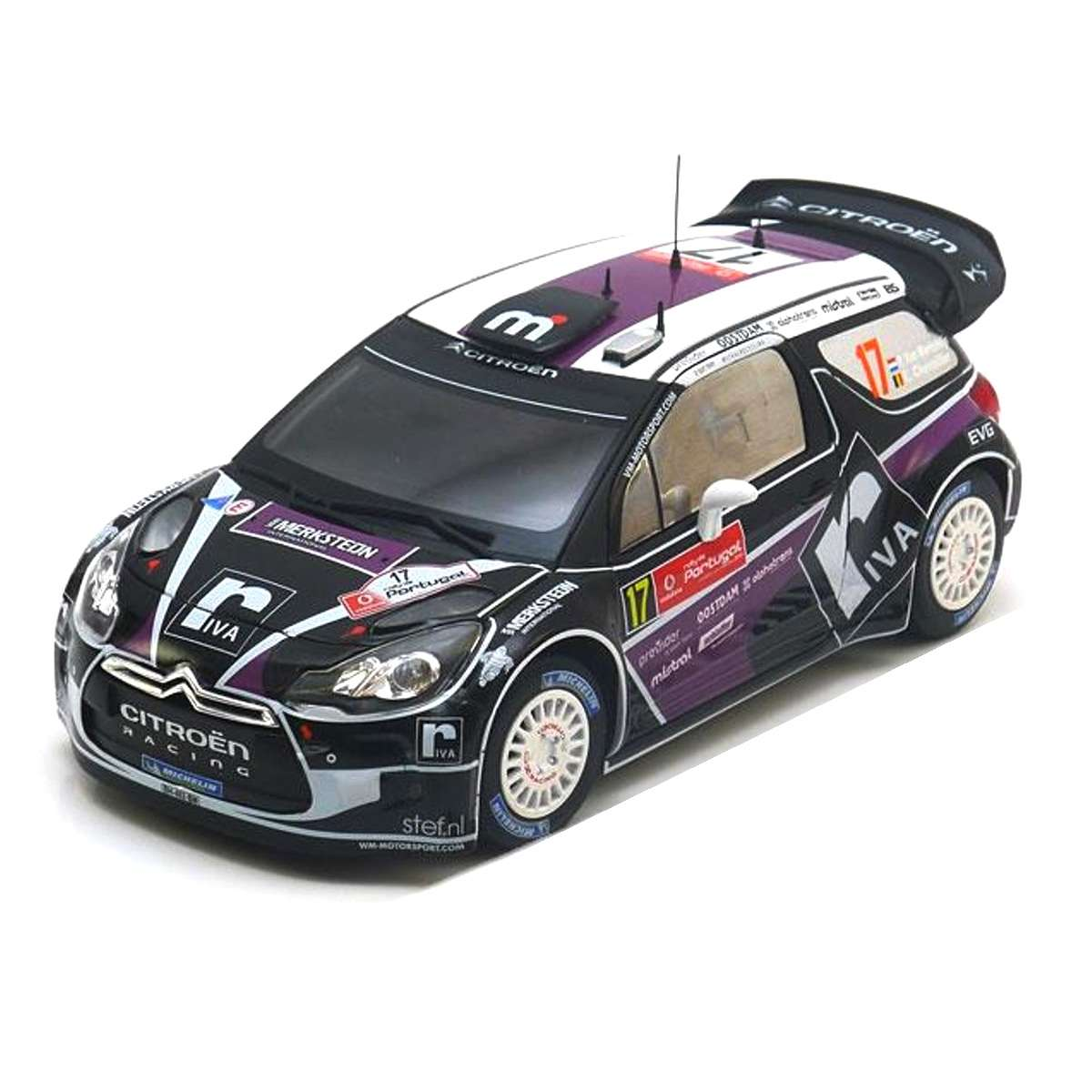 Diecast Car 1/18: Rally - Citroen DS3 WRC, Rallye Portugal 2012 Photo