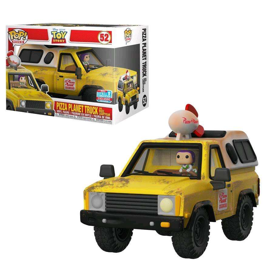 [PRE-ORDER] POP! Toy Story - Pizza Planet Truck with Buzz Lightyear (NYCC 2018 Exclusive) Photo