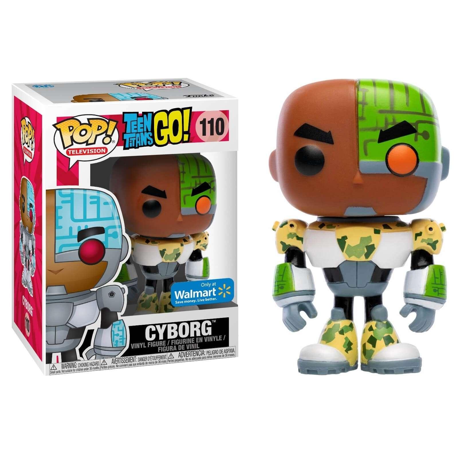 POP!: Teen Titans Go! - Cyborg Camo (Walmart Exclusive) Photo