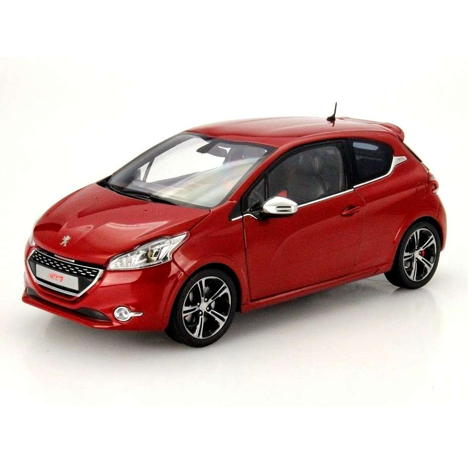 Diecast Car 1/18: Street Cars - Peugeot 208 GTi 2013 Photo