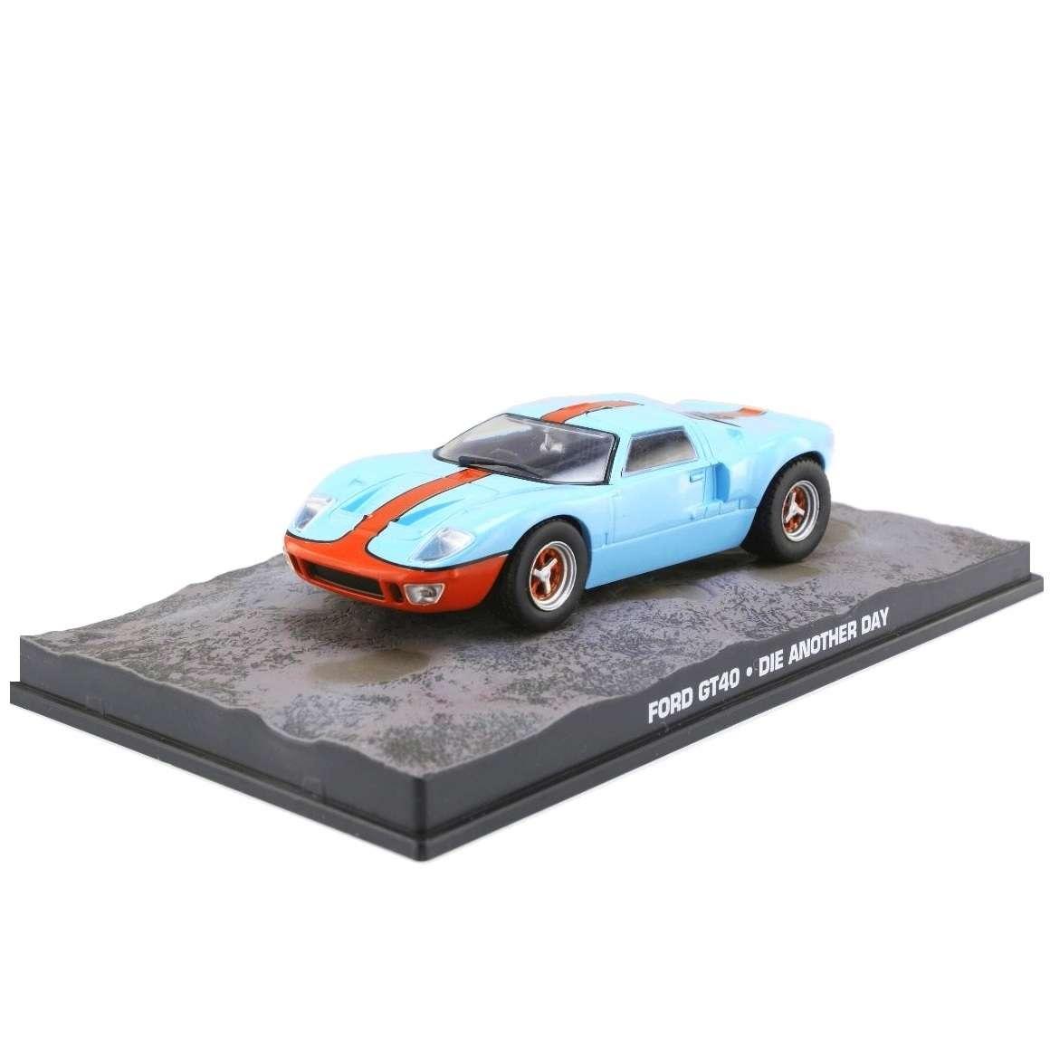 Diecast Car 1/43: James Bond - Ford GT40 Photo