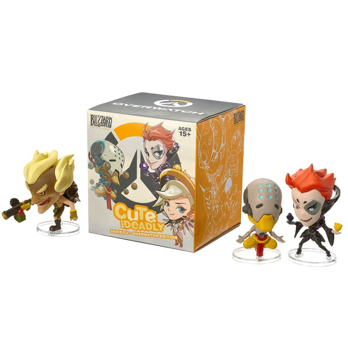 Mystery Mini: Overwatch - Cute But Deadly Blind Vinyls Photo
