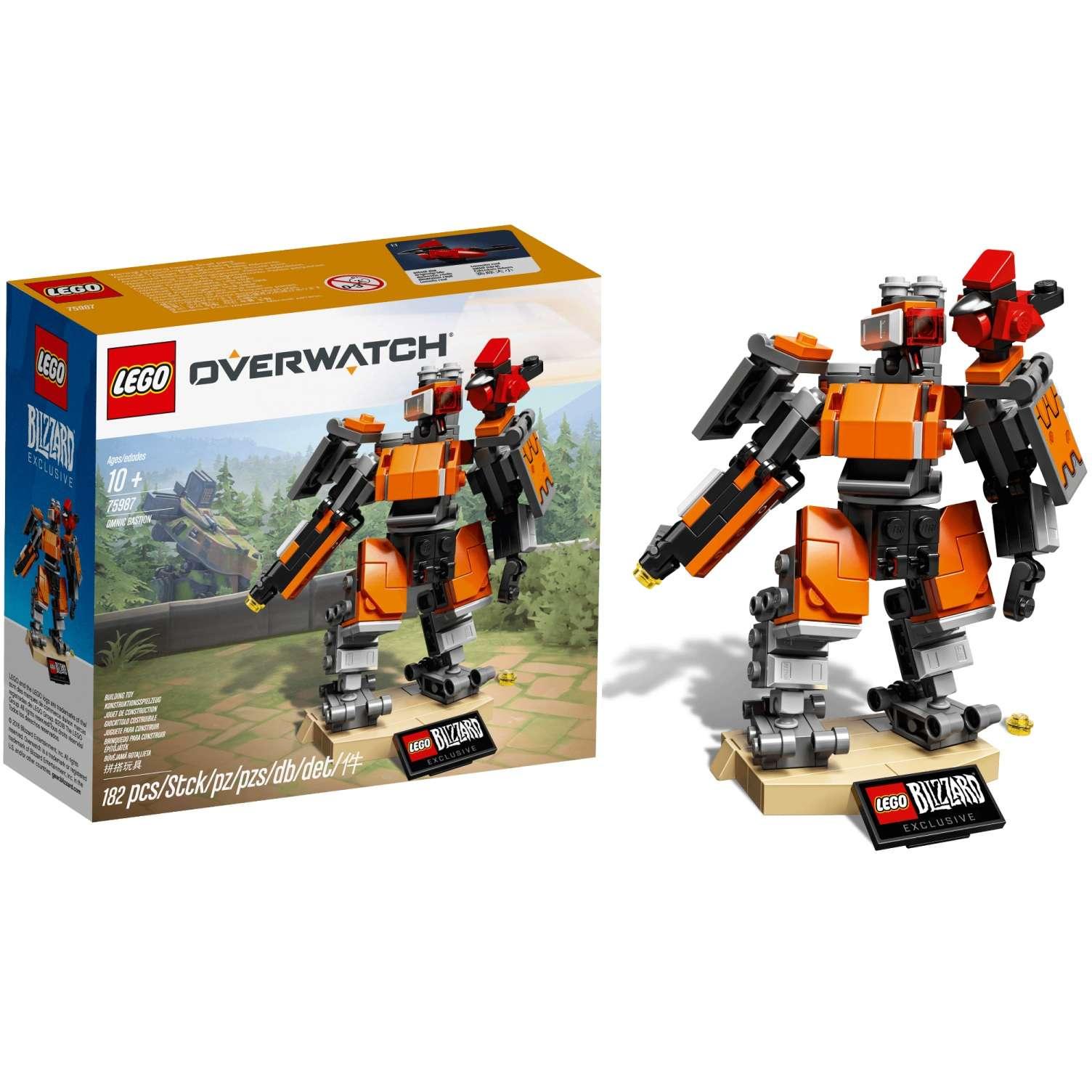 Buildding Kit: Overwatch - Omnic Bastion Photo