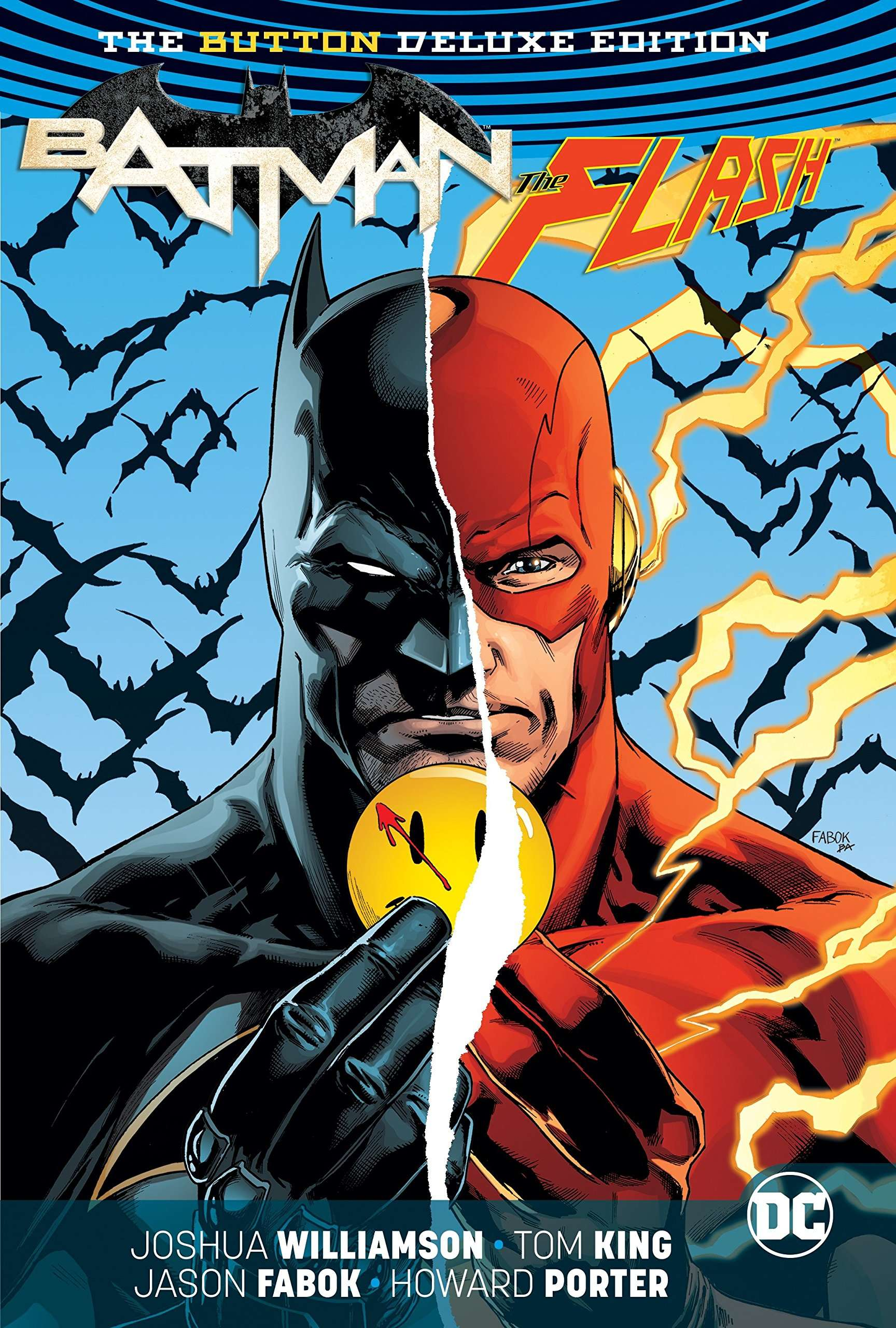 BOOK: Batman/The Flash The Button Deluxe Edition (International Version) Photo