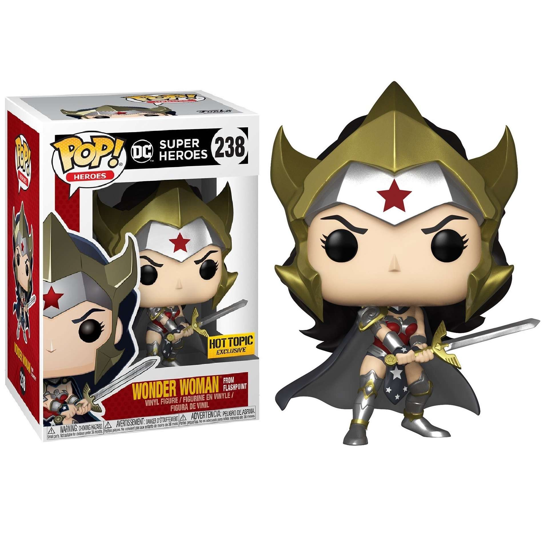 POP!: DC Comics - Wonder Woman from Flashpoint (Hot Topic Exclusive) Photo