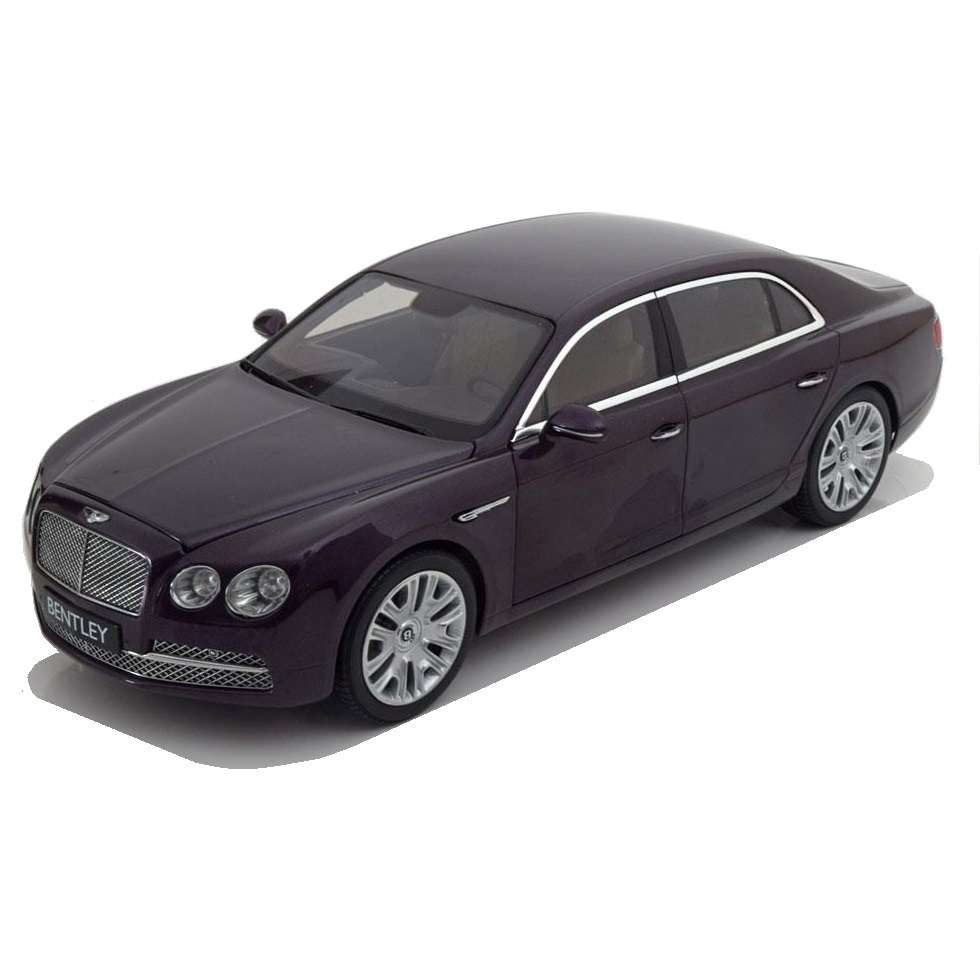 Diecast Car 1/18: Street Cars - Bentley Flying Spur Damson W12, 2013 Photo