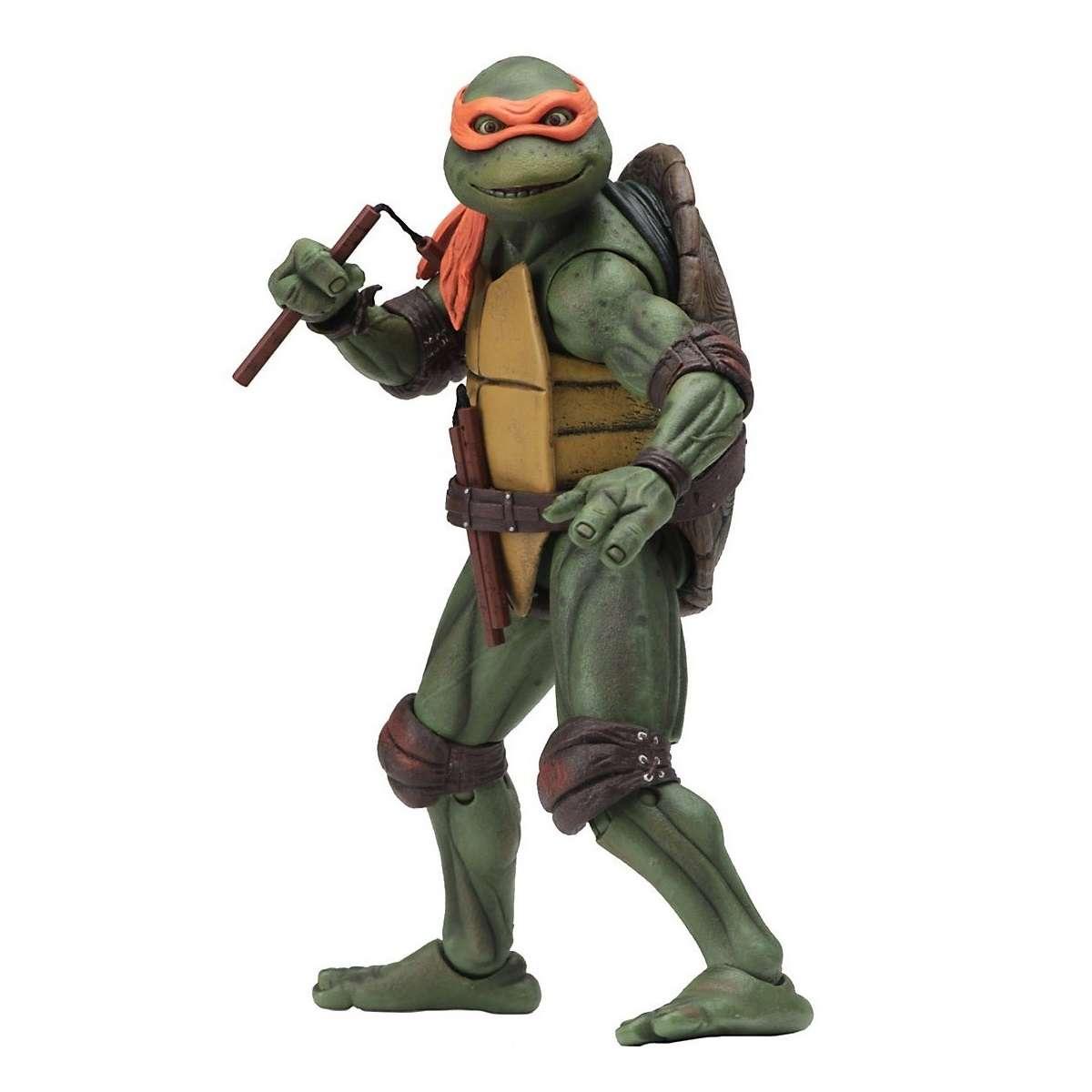 Action Figure: Teenage Mutant Ninja Turtles - Michelangelo Photo