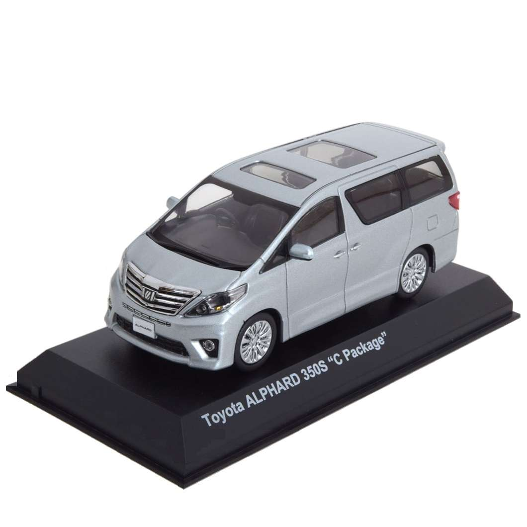 Diecast Car 1/43: Street Cars - Toyota Alphard 350S (Early) C-Package, 2012 Photo