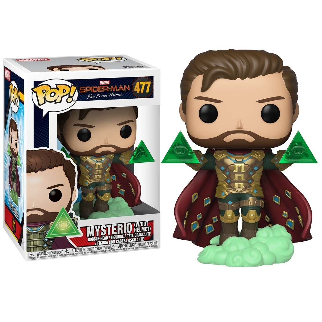 POP!: Spider Man Far From Home - Mysterio Without Helmet (Exclusive) Photo