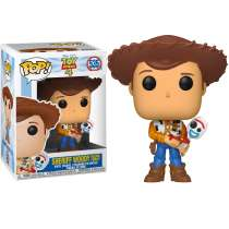POP!: Toy Story 4 - Sheriff Woody Holding Forky (Exclusive) Photo