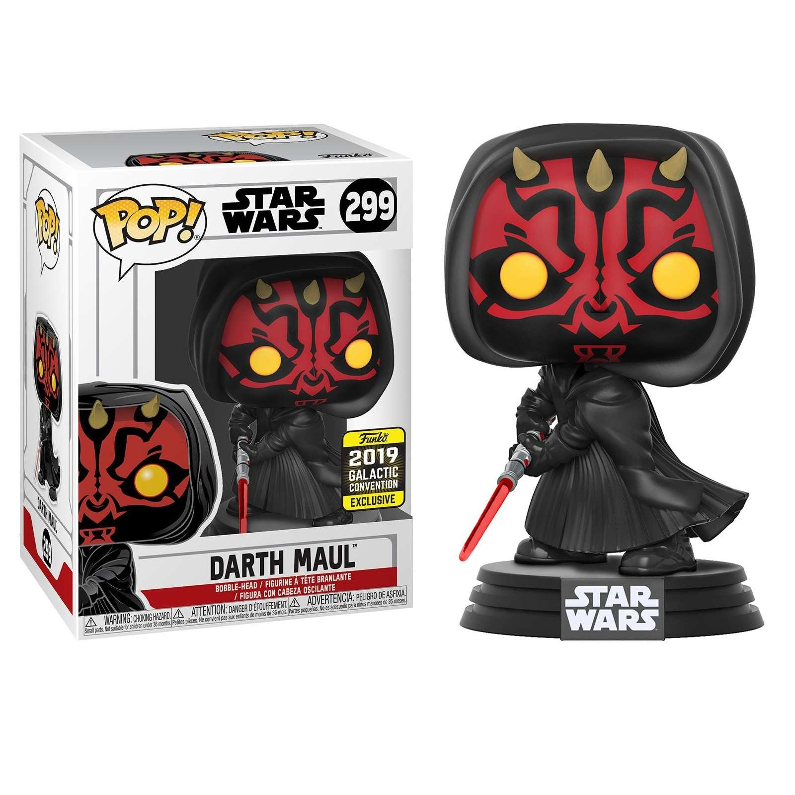 Star Wars Darth Maul Exclusive Funko POP!
