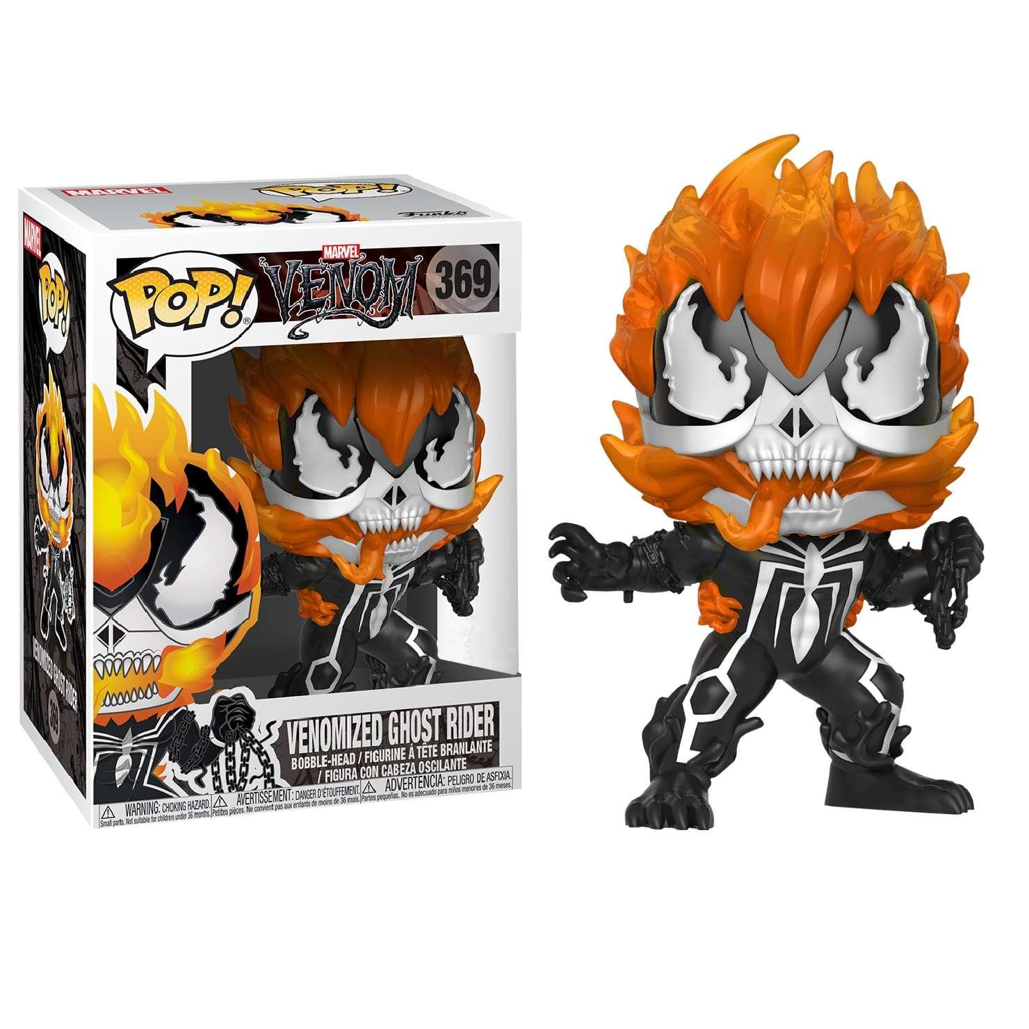 POP!: Venom - Venomized Ghost Rider (Exclusive) Photo