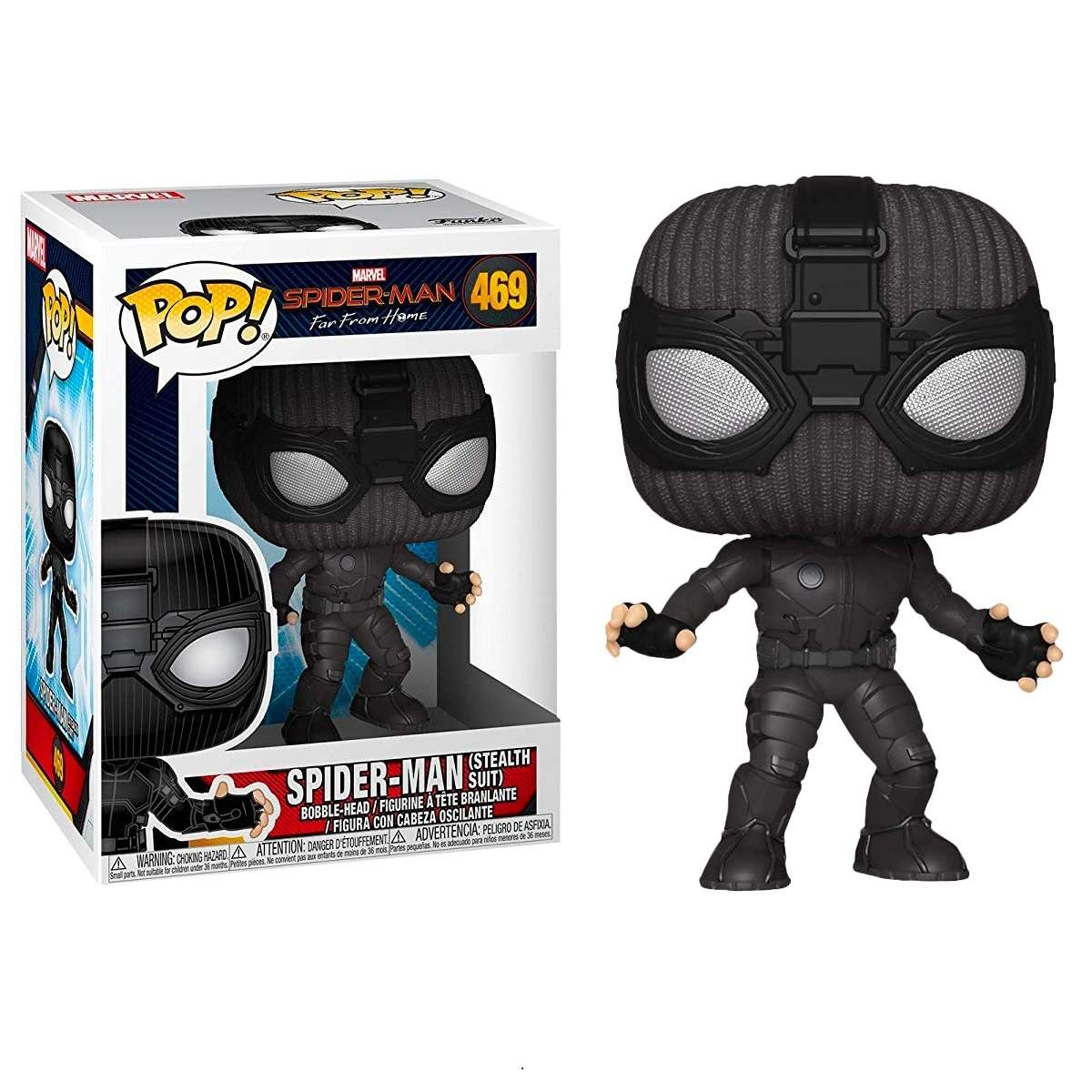 POP!: Spider Man Far From Home - Spider Man in Stealth Suit Photo