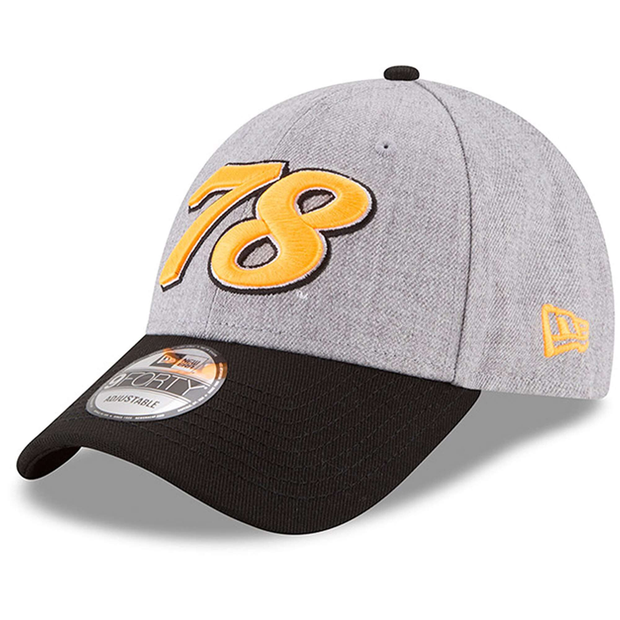 Hat: Nascar - Martin Truex Jr Heather Gray/Black Driver Number 9FORTY Photo