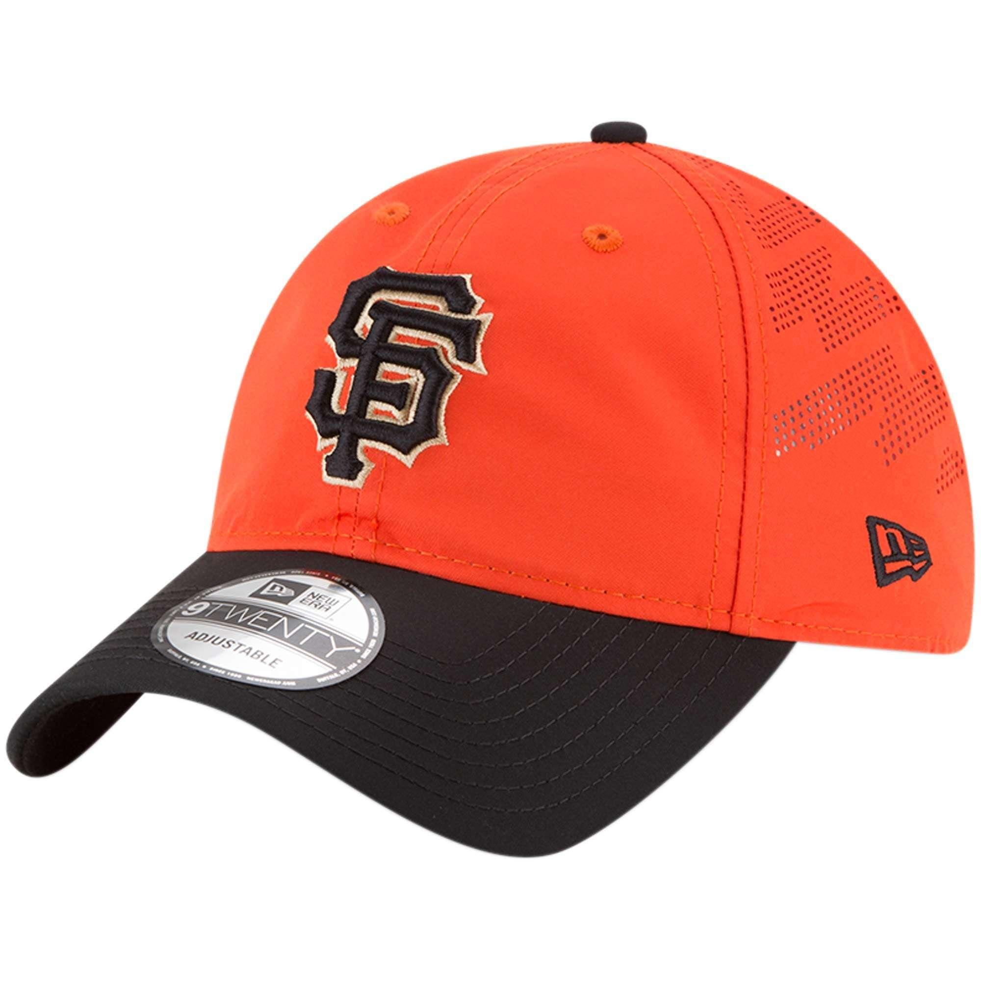 Hat: MLB - San Francisco Giants Orange/Black Prolight 9TWENTY Photo