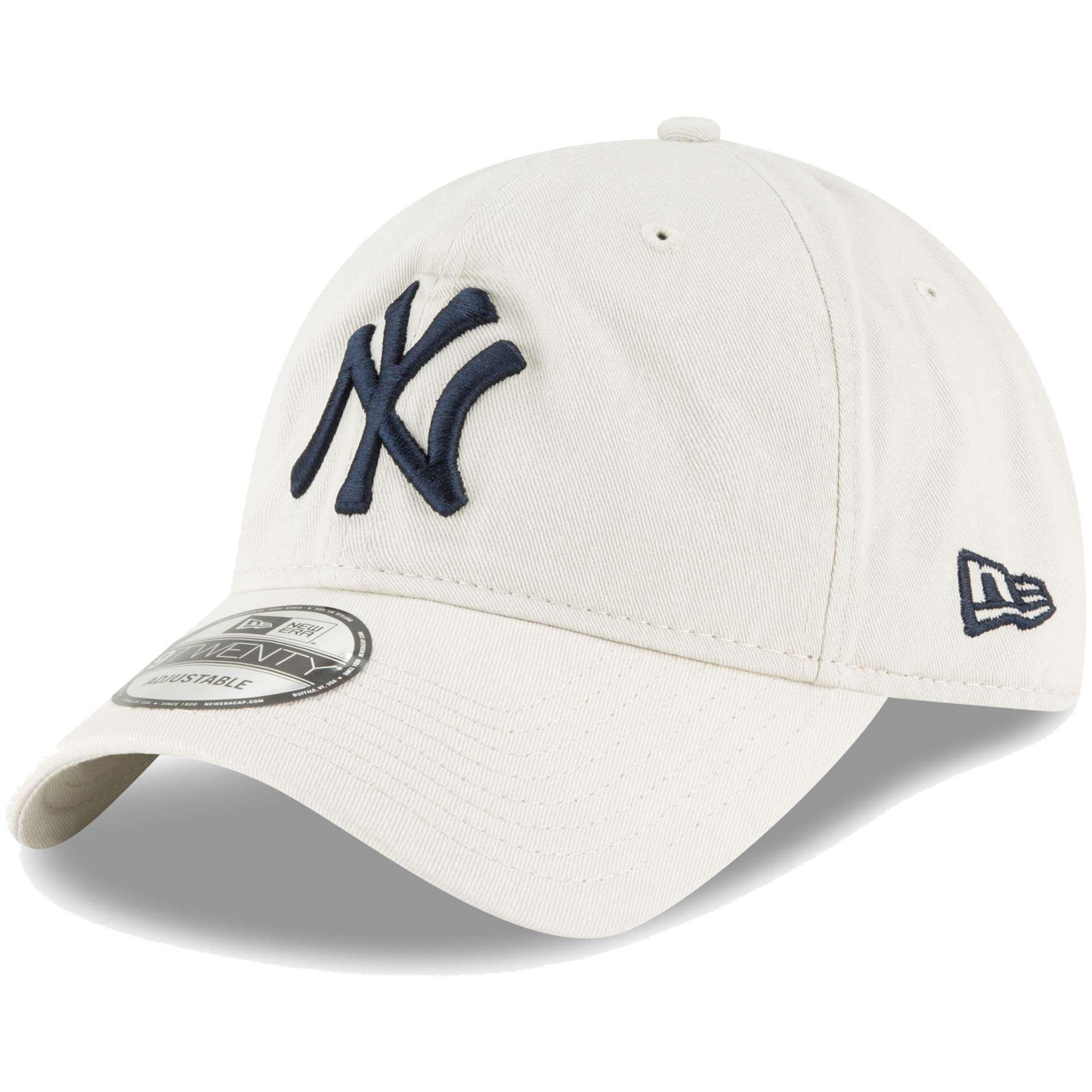 Hat: MLB - New York Yankees Tan Core Classic Twill 9TWENTY Photo