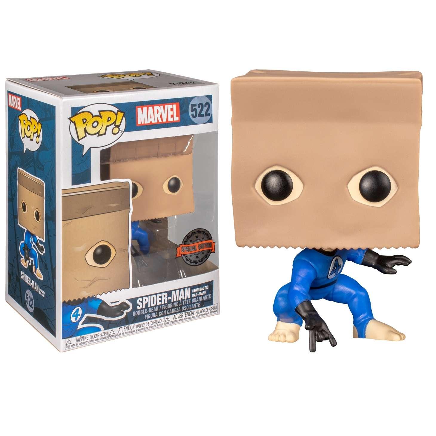 POP!: Spider Man - Bombastic Bag-Man (Exclusive) Photo