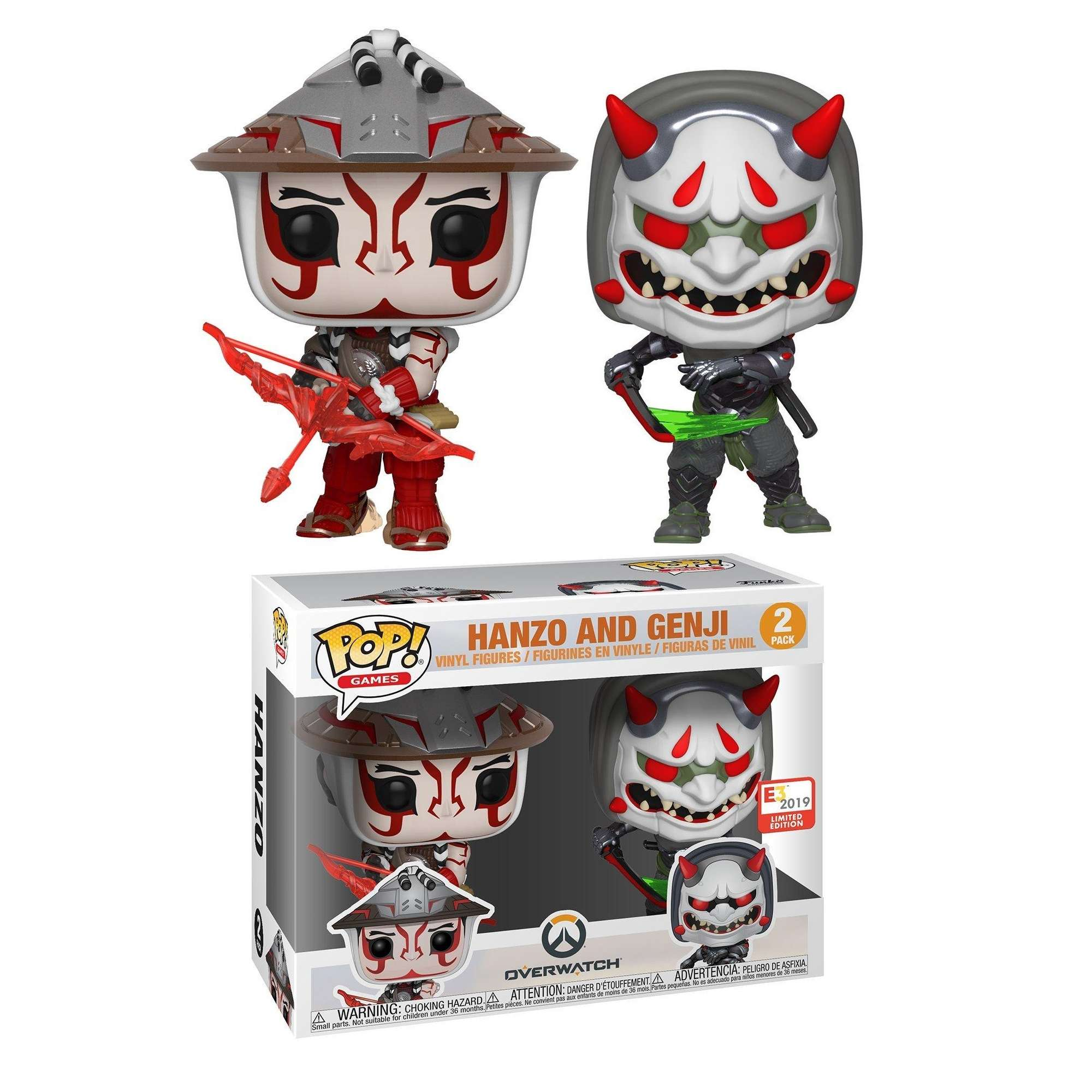 POP!: Overwatch - Hanzo & Genji (2019 E3 Exclusive) Photo