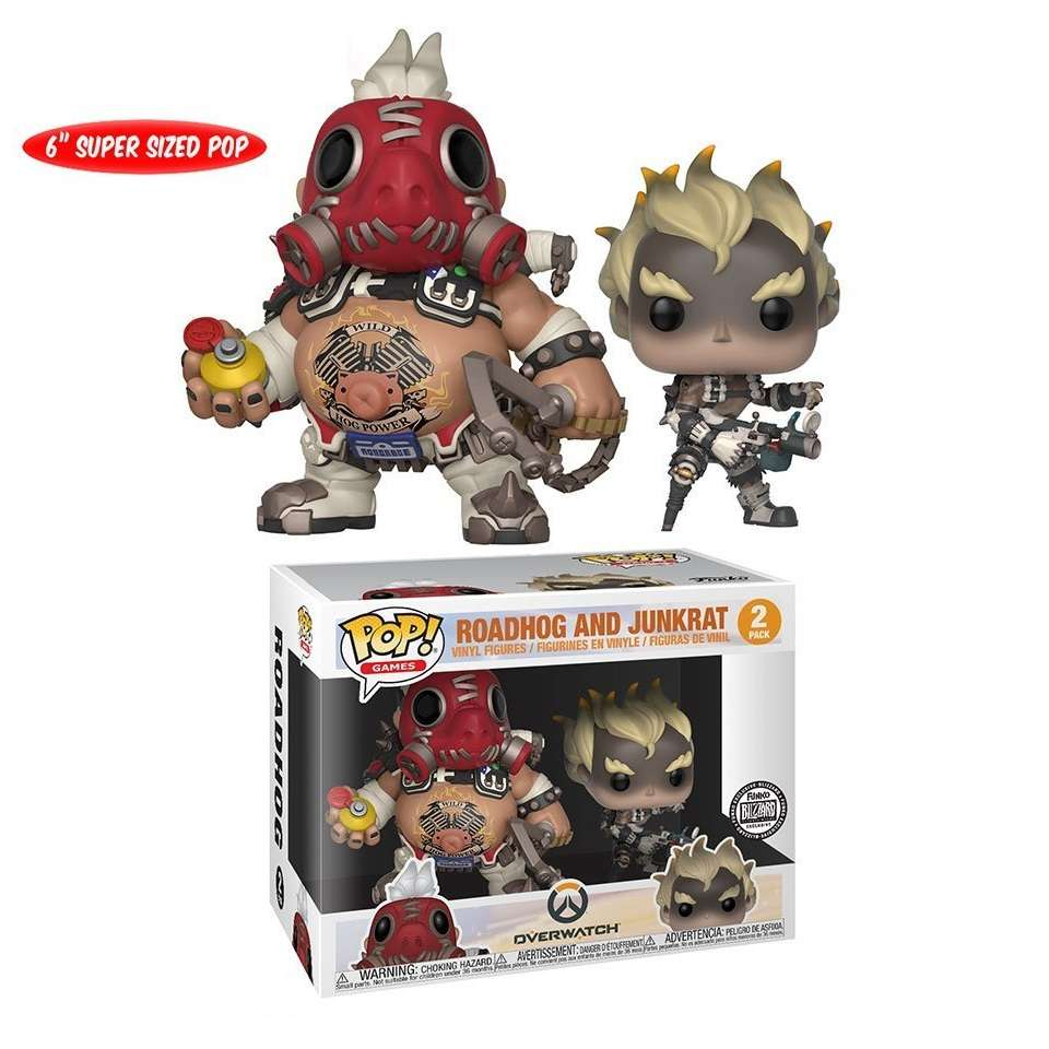 POP!: Overwatch - Roadhog & Junkrat (blizzard Exclusive) Photo