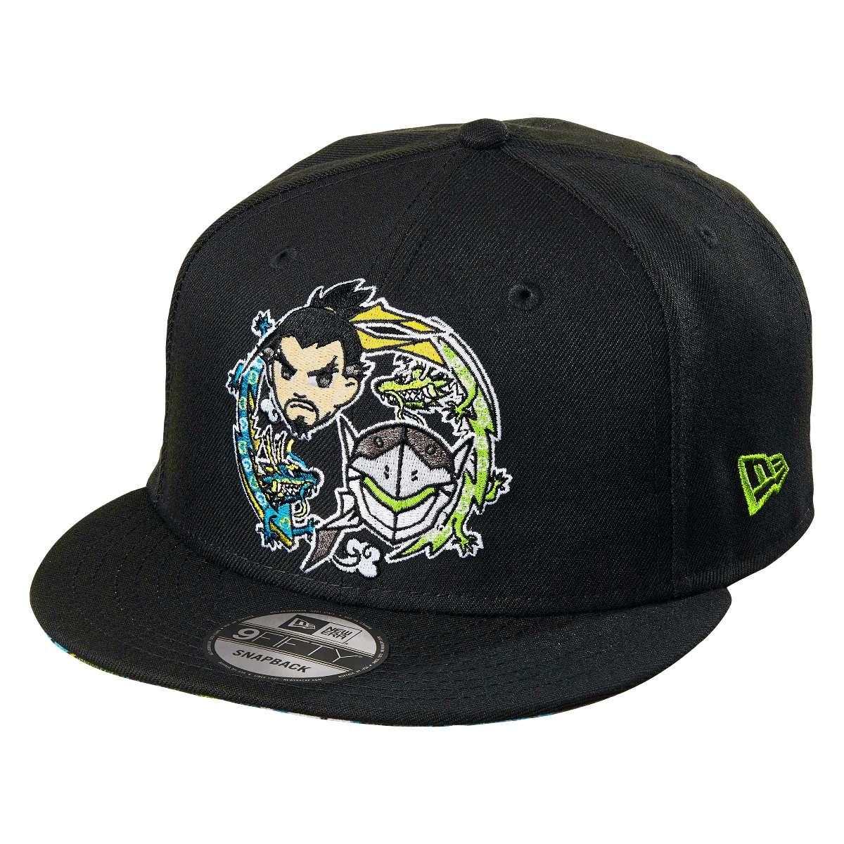 Hat: Overwatch - Tokidoki x Overwatch Hanzo & Genji Snapback Hat Photo