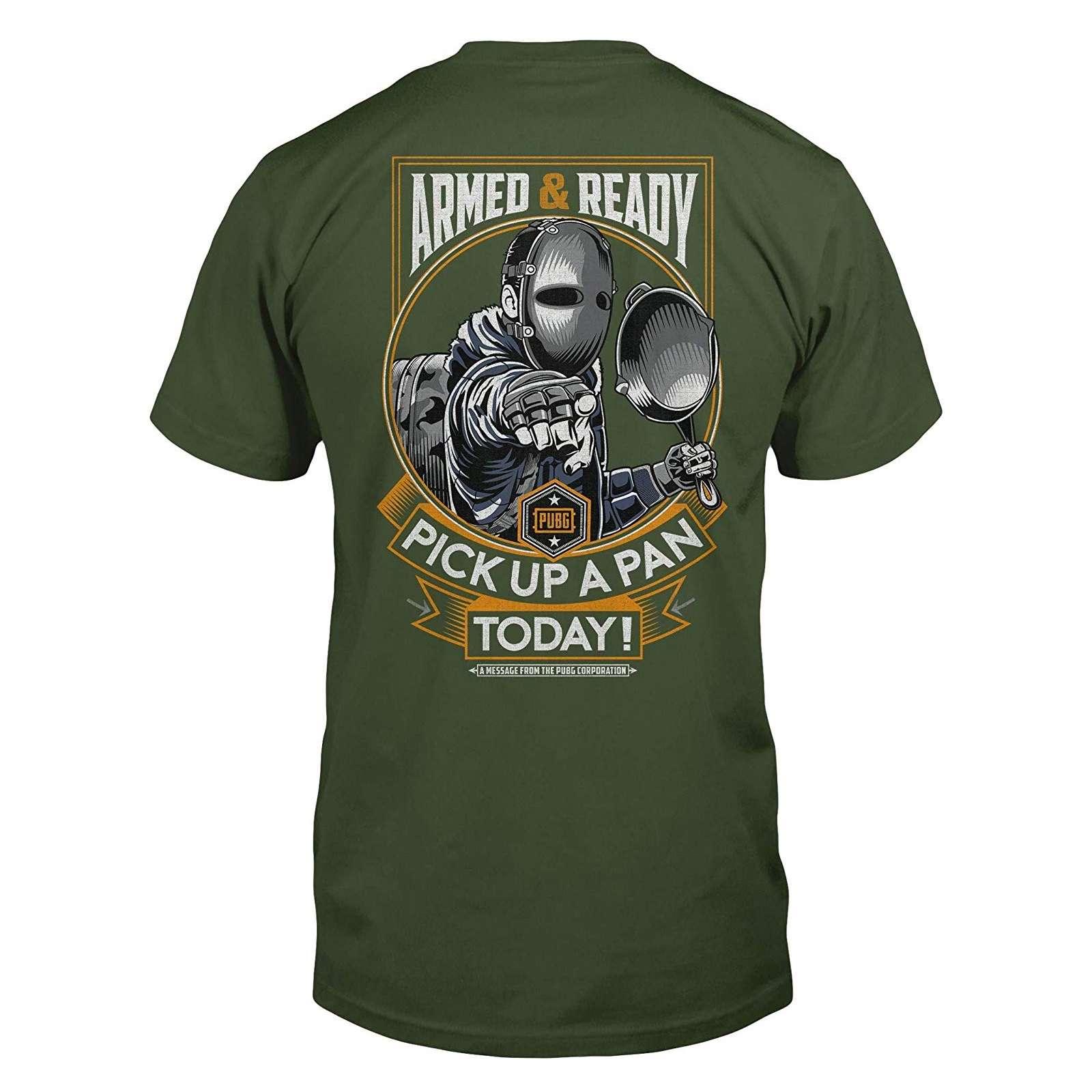 Shirt: PUBG - Pan Man Premium T-Shirt Photo