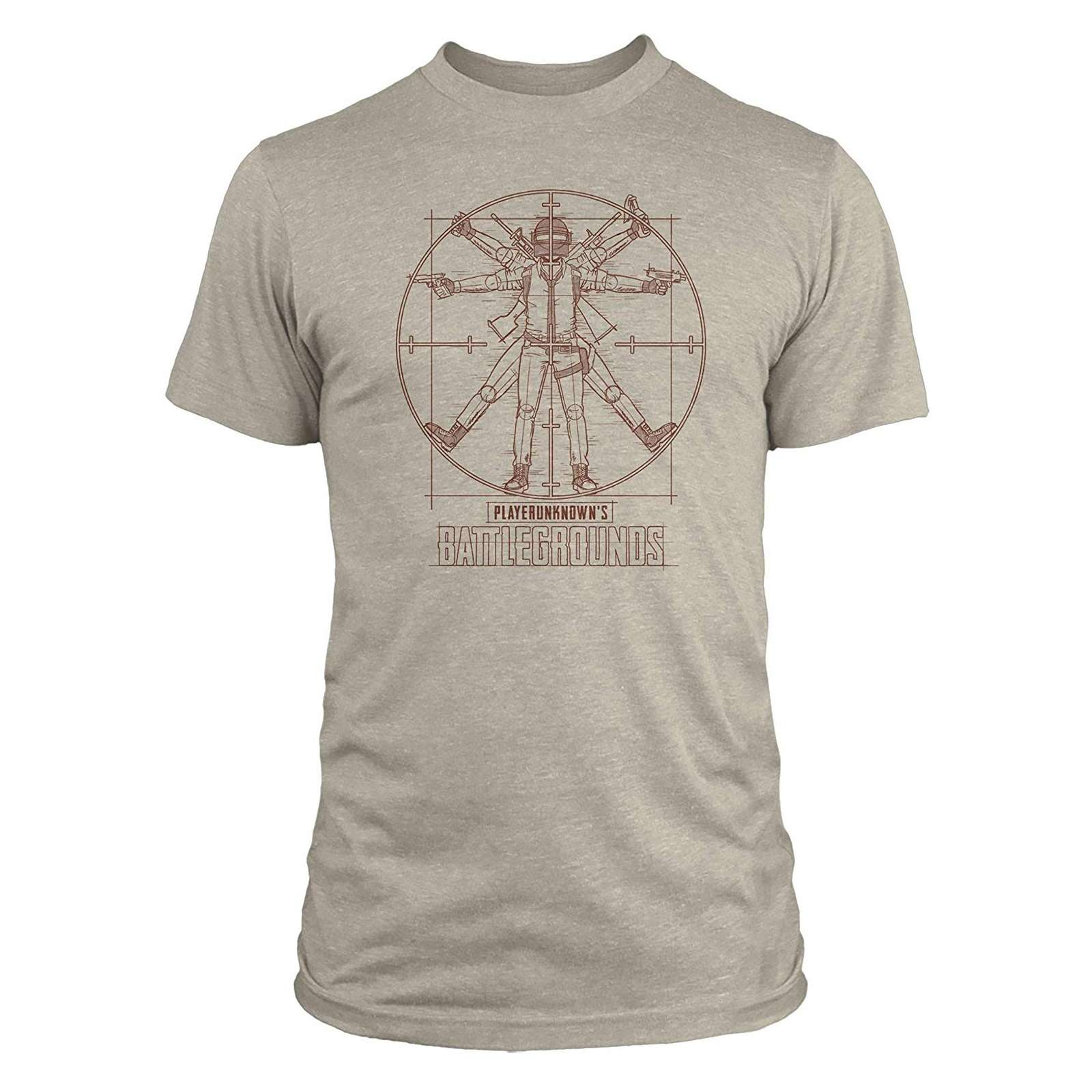Shirt: PUBG - Vitruvian Man Premium T-Shirt Photo