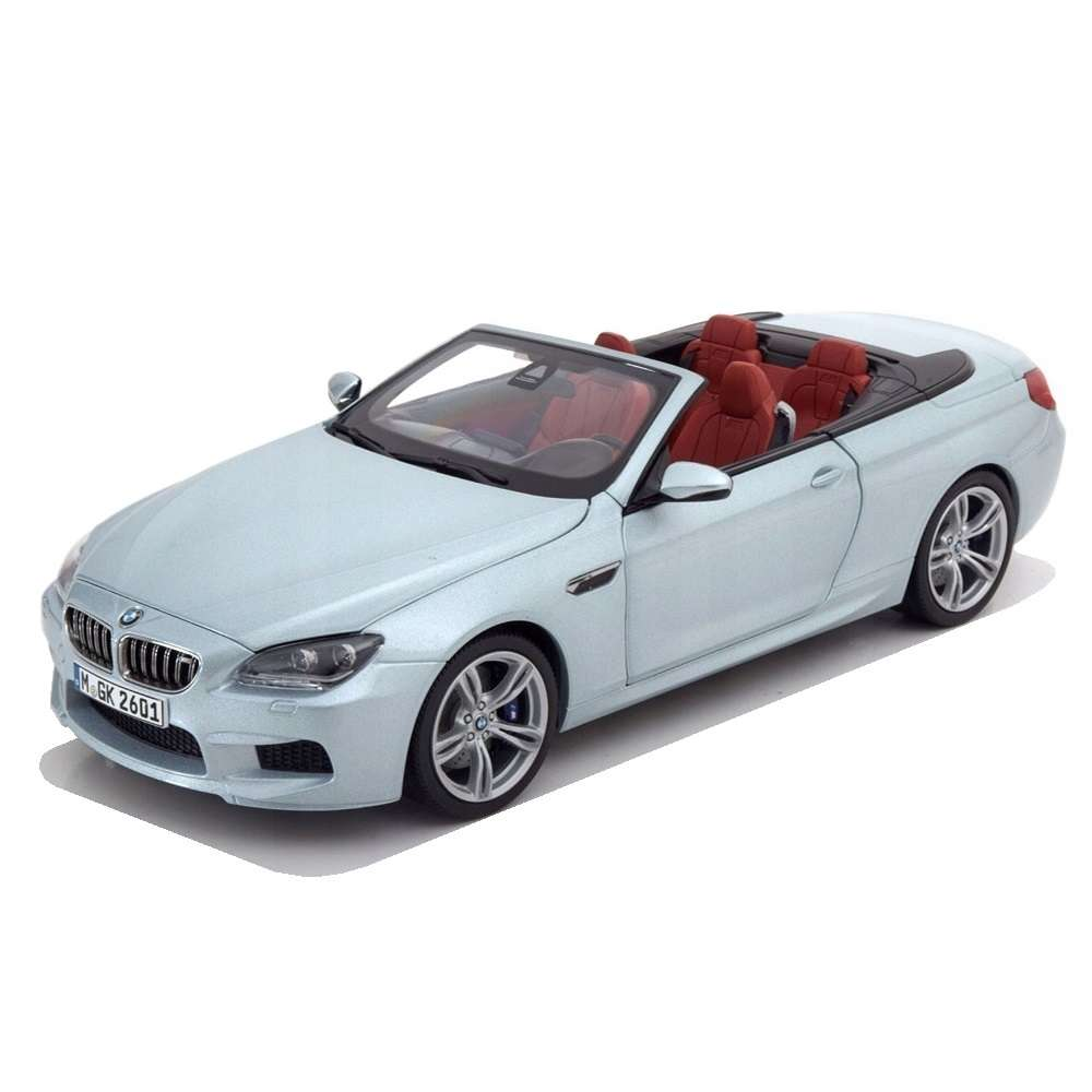 Diecast Car 1/18: Street Cars - BMW M6 Convertible Silverstone II, 2012 Photo