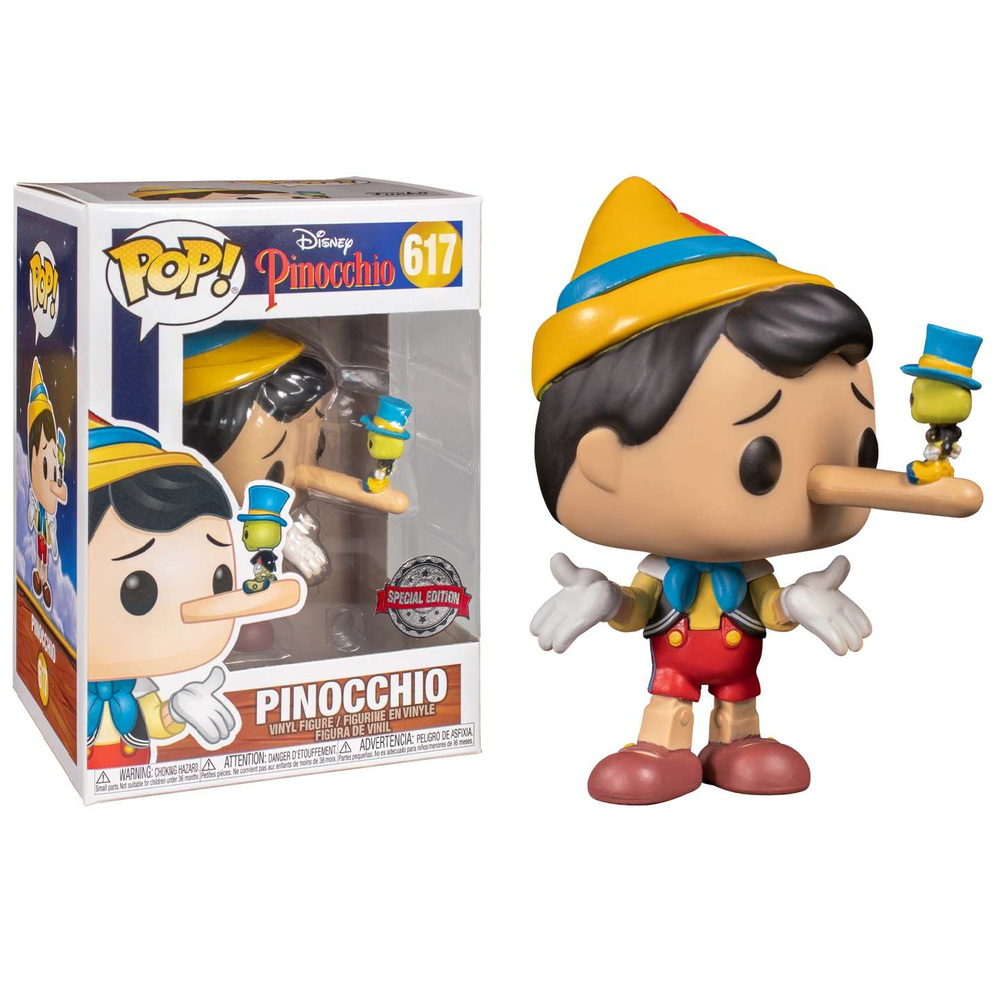 POP!: Pinocchio - Pinocchio w/ Jiminy Cricket (Exclusive) Photo