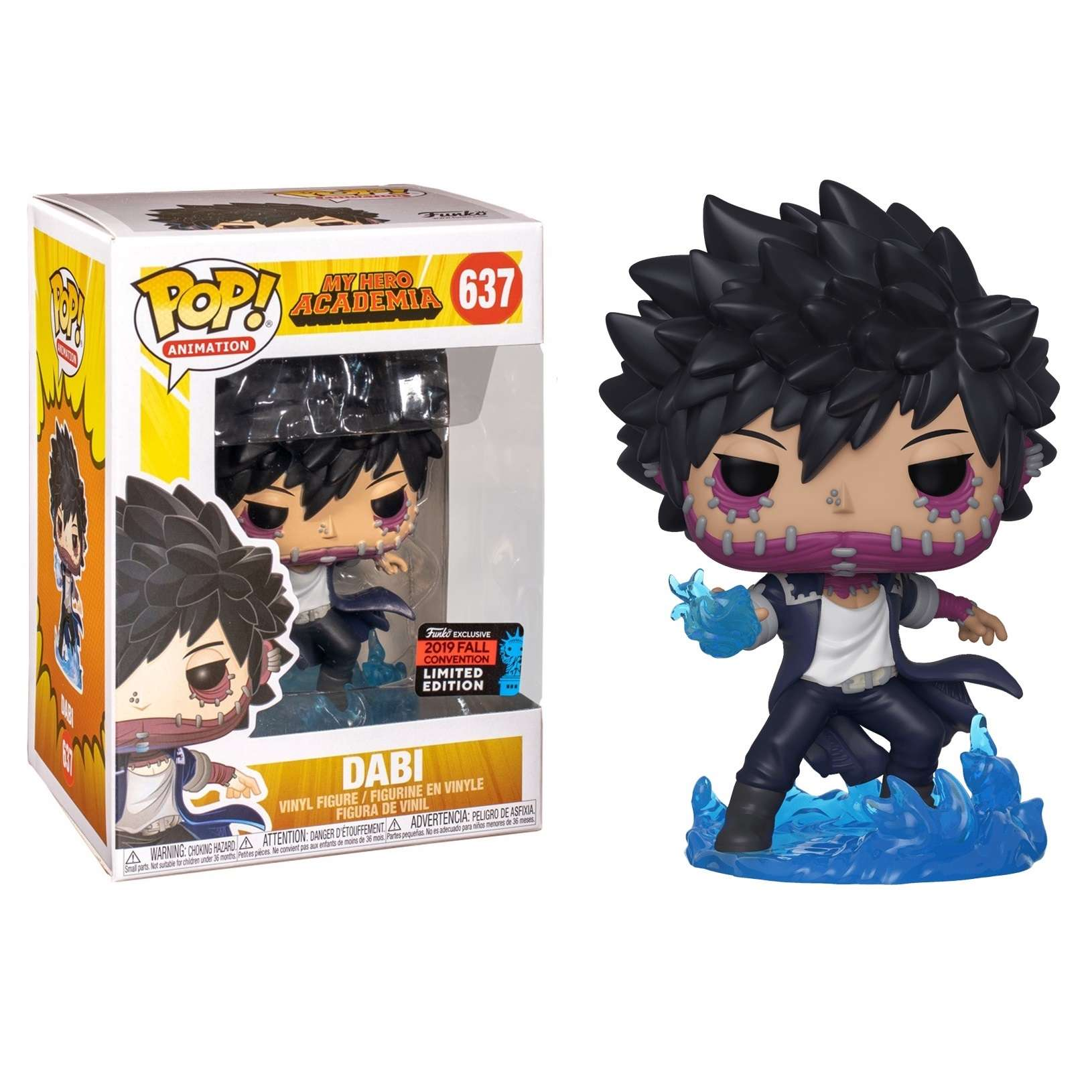 POP!: My Hero Academia - Dabi (NYCC 2019) Photo