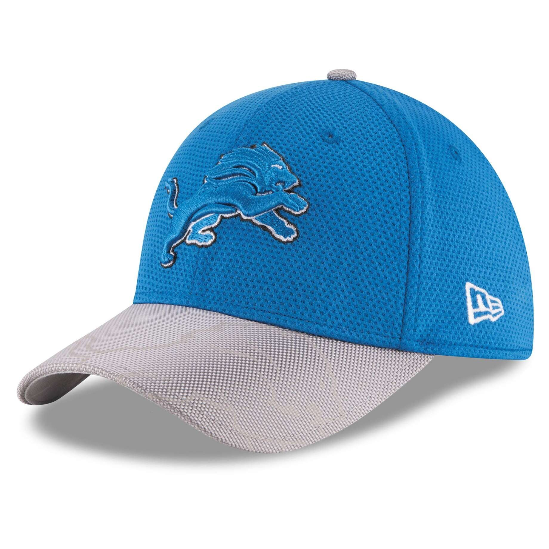 Hat: NFL - Detroit Lions Blue Sideline Official 39THIRTY Photo