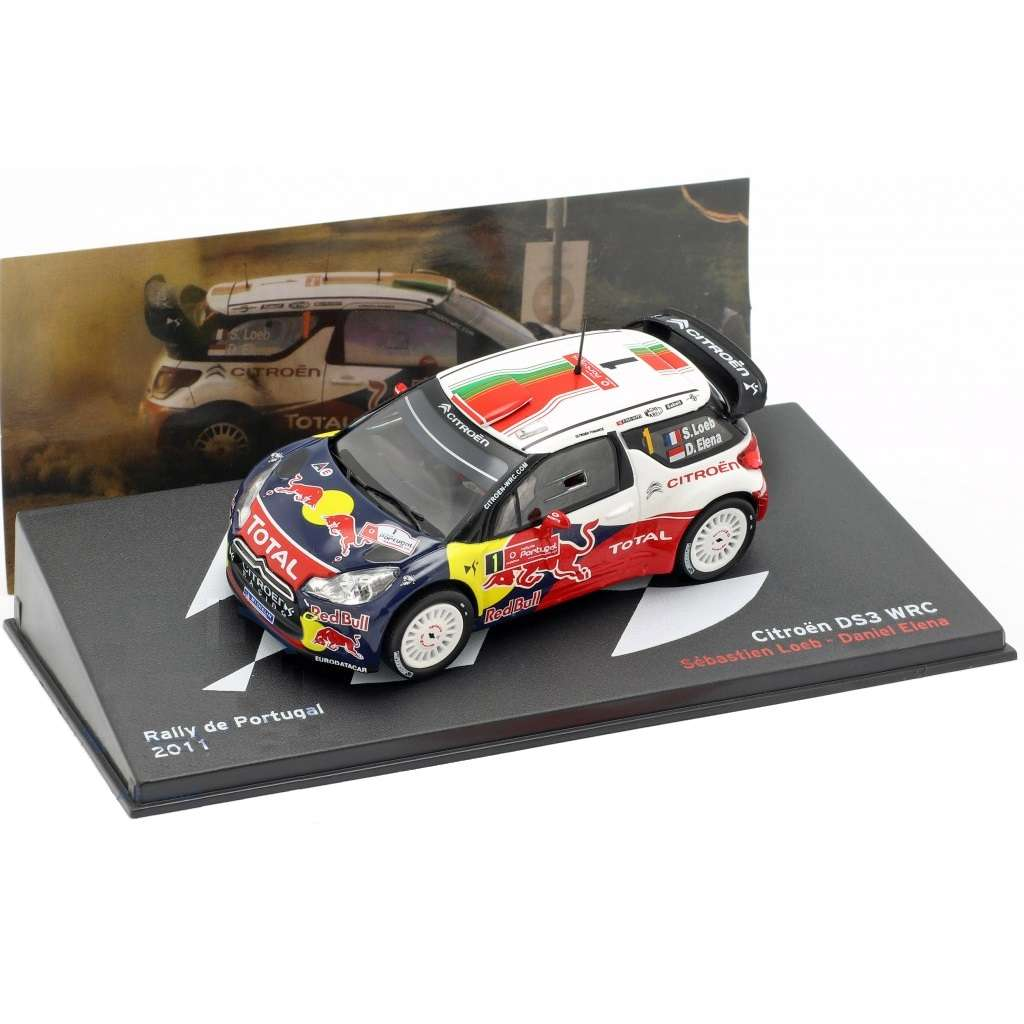 Diecast Car 1/43: Rally - Citroen DS3 WRC #1, Rallye Portugal 2011 Photo