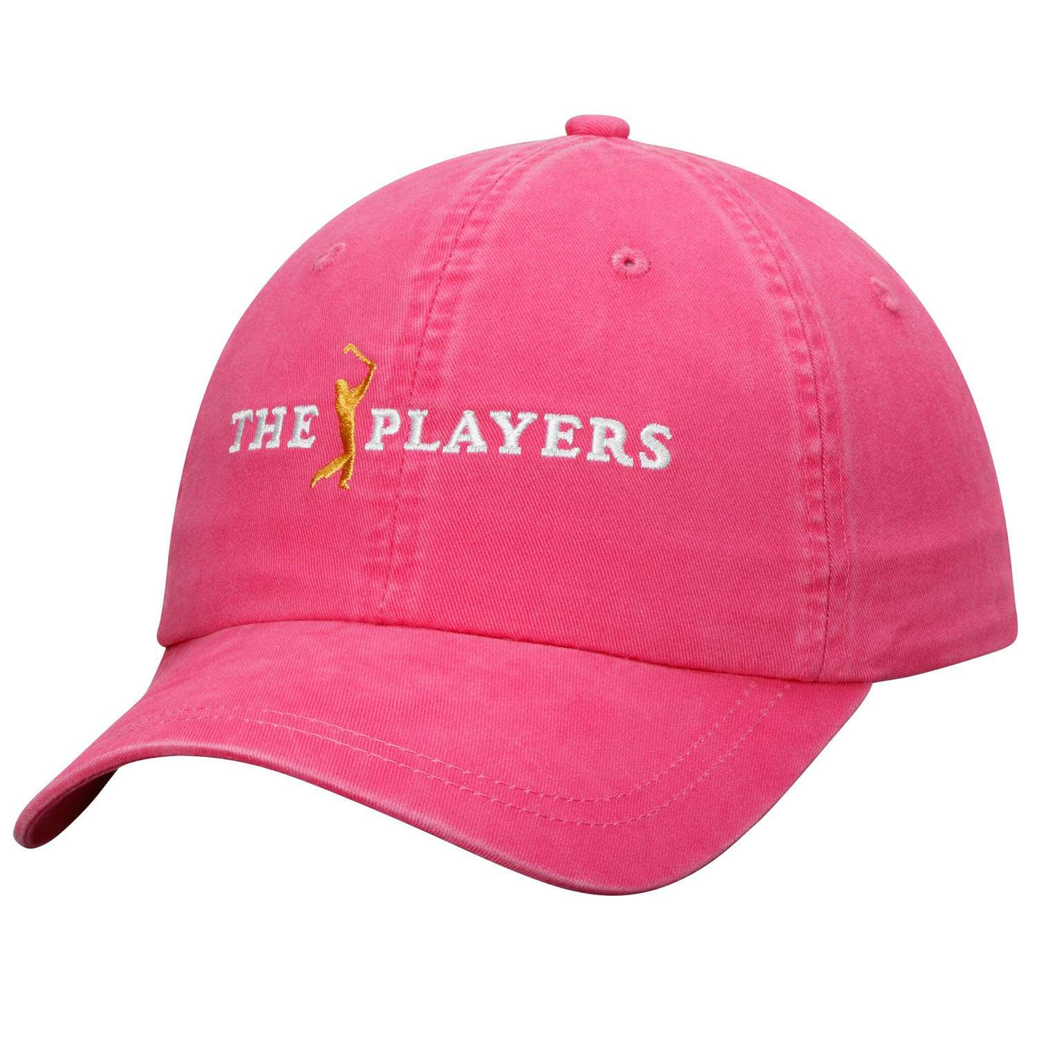 Hat: Golf - The Players Pink Solid Peach Twill (Women) Photo