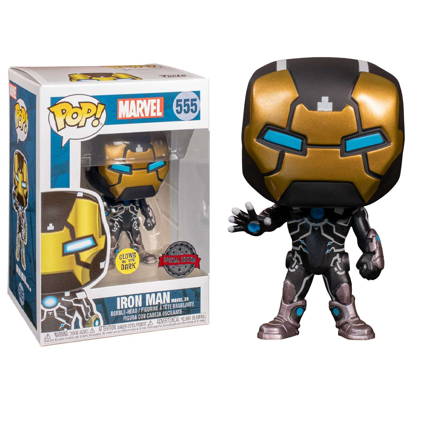POP!: Marvel - Iron Man MK39 Glow in the Dark (Exclusive) Photo