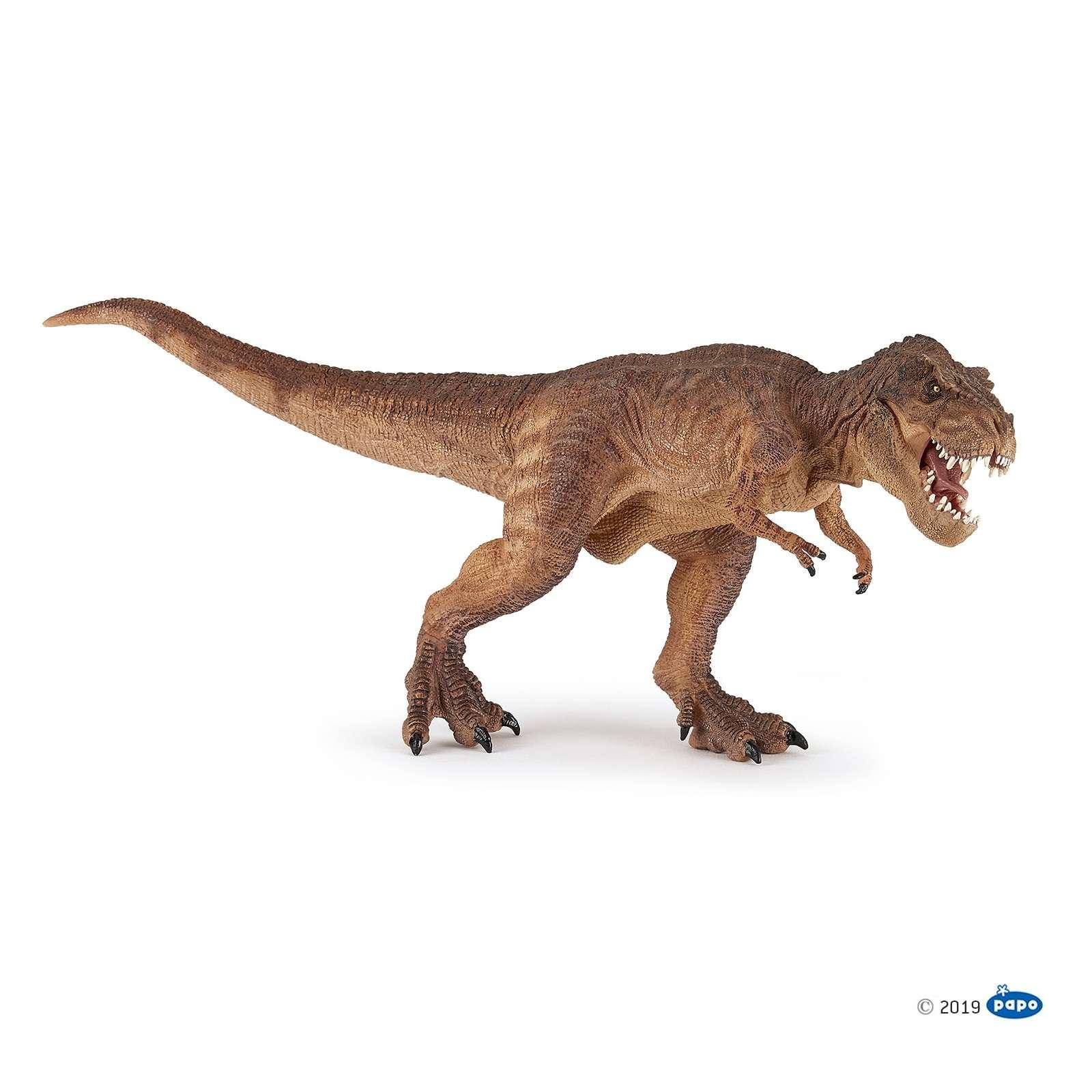 Animal Figure: Dinosaur - Brown Running T-Rex 55075 Photo