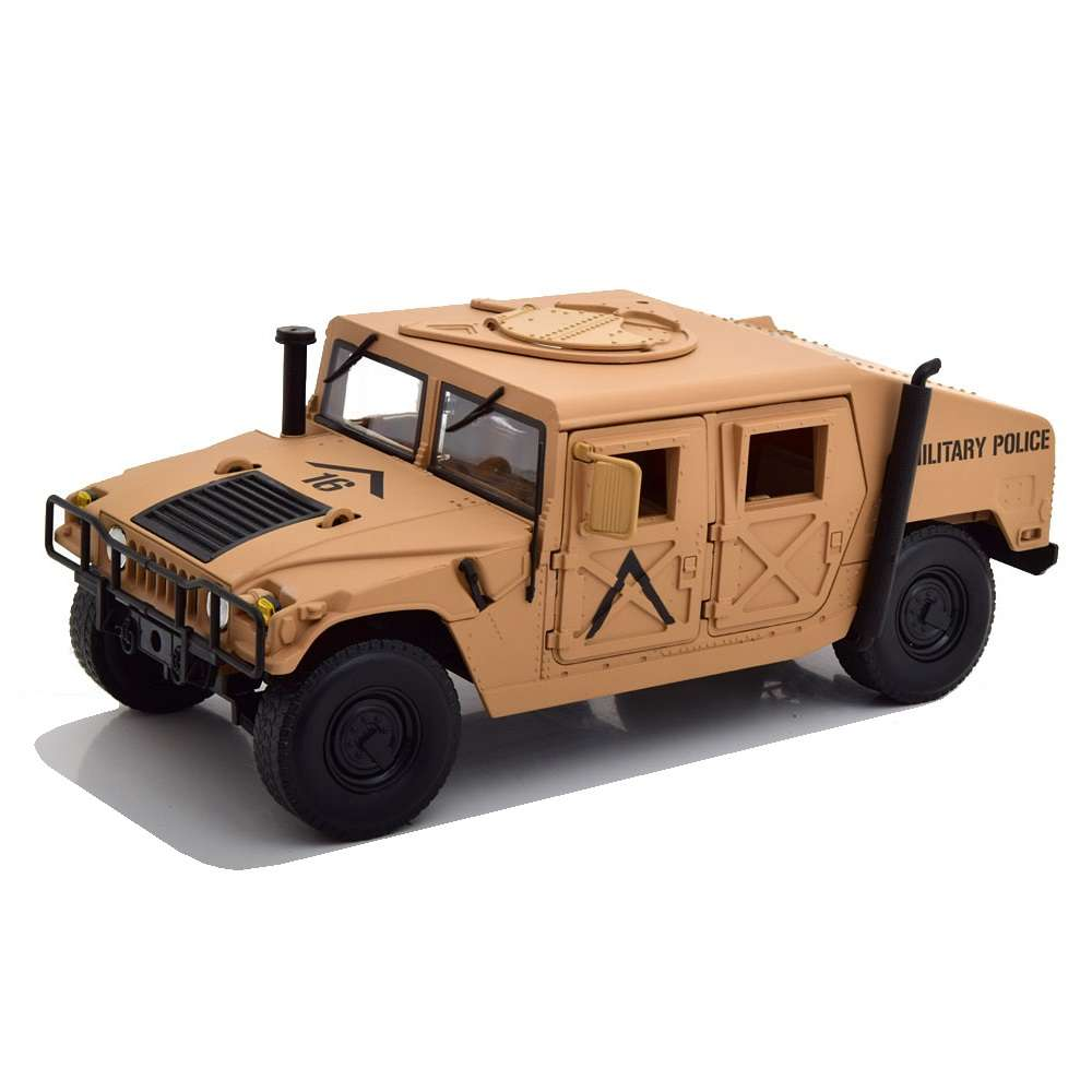 Diecast Car 1/18: Military - Hummer Humvee Military Police, Photo