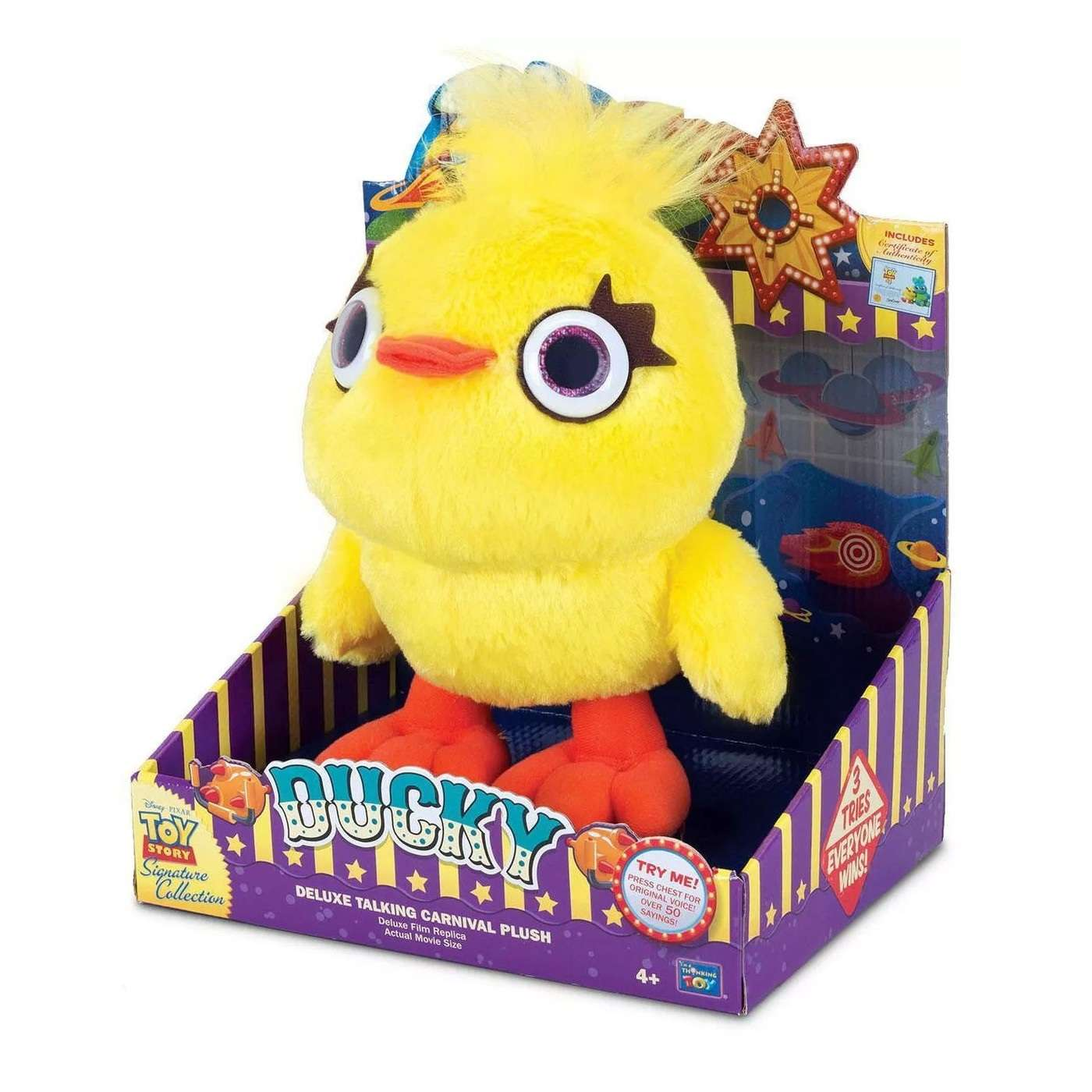 Signature Collection: Toy Story - Ducky Deluxe Talking Plush Photo