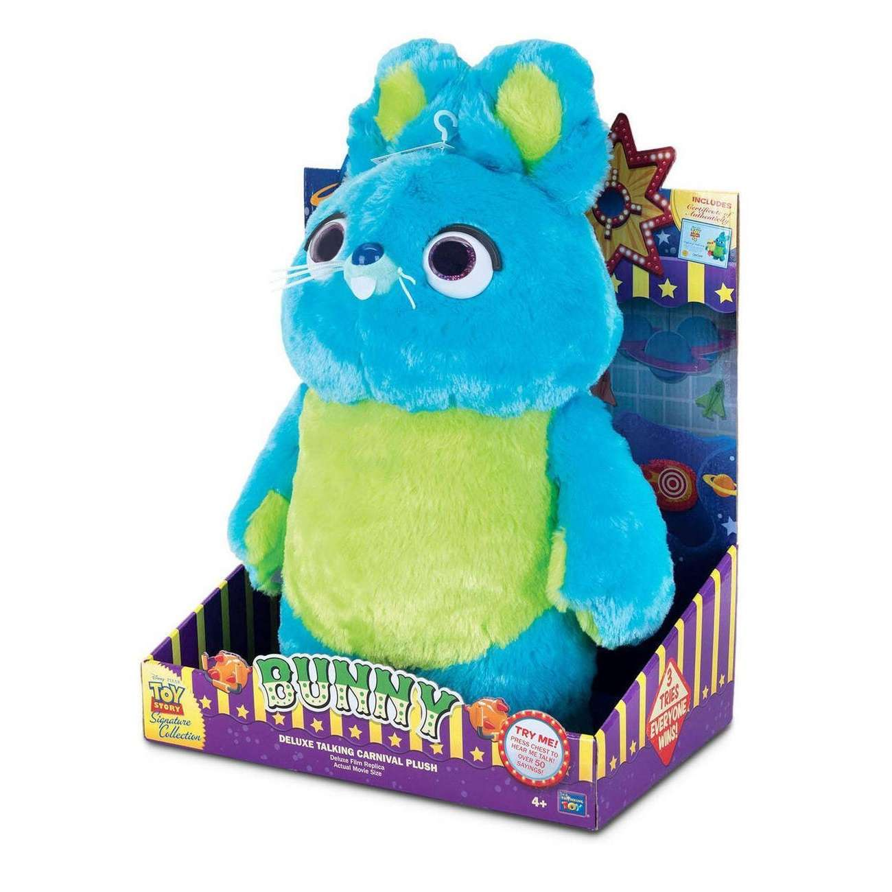 Signature Collection: Toy Story - Bunny Deluxe Talking Plush Photo