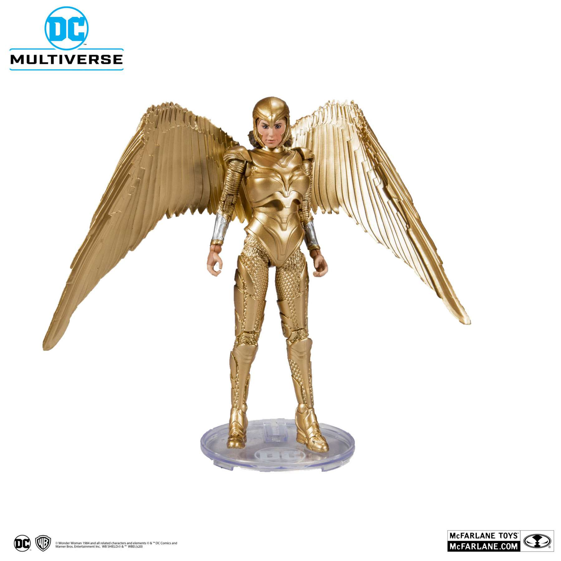 Action Figure: Wonder Woman 1984 - Wonder Woman in Golden Armour DC Multiverse Photo