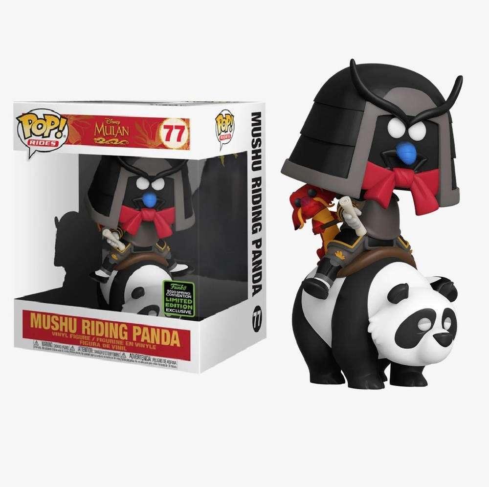 POP!: Mulan 1998 - Mushu on Panda (2020 Spring Convention Exclusive) Photo