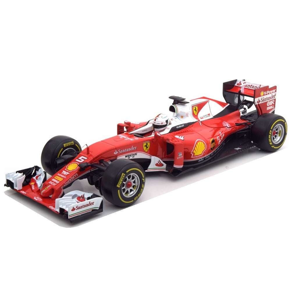 Diecast Car 1/18: Formula 1 - Ferrari SF 16-H, 2016 (S. Vettel) Photo