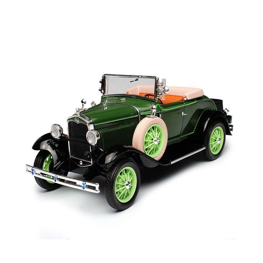 Diecast Car 1/18: Street Cars - Ford Model A Roadster, 1931 Photo
