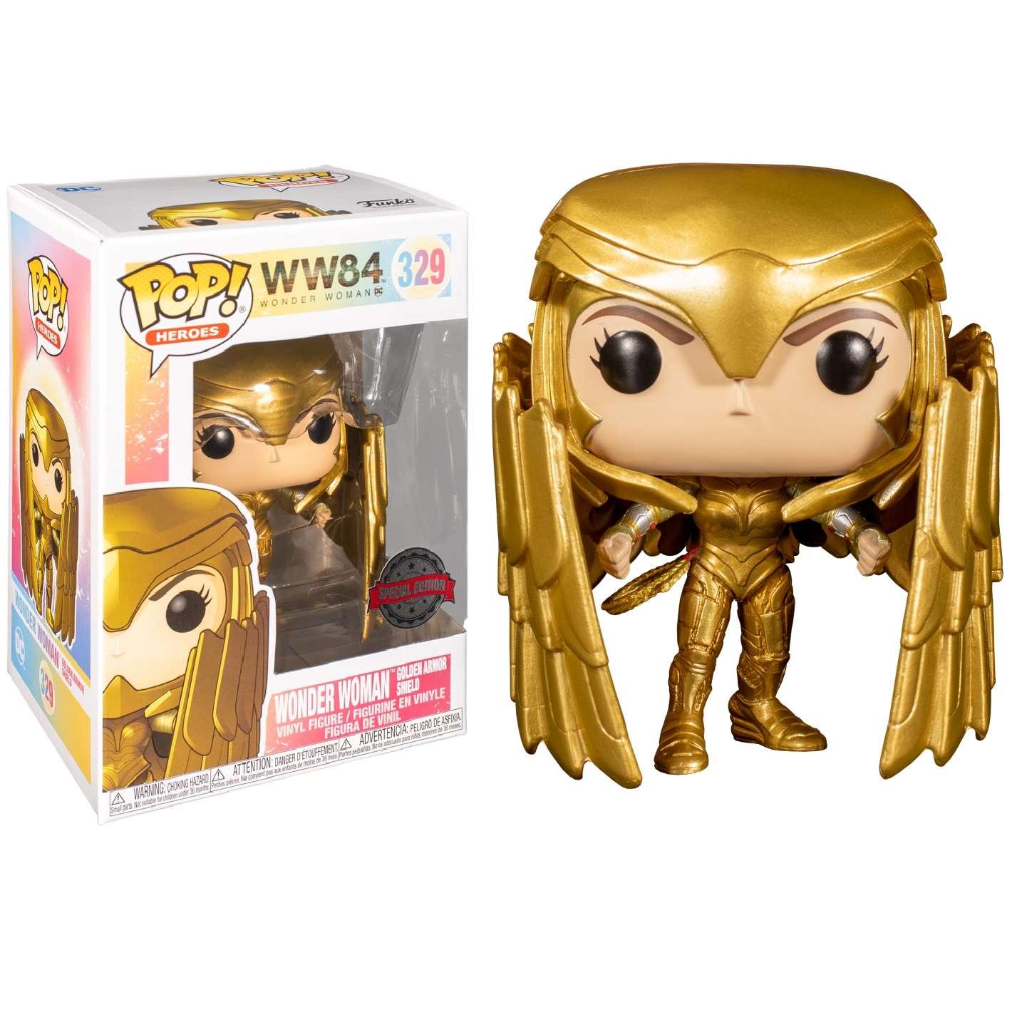 POP!: Wonder Woman 1984 - Wonder Woman Golden Armor Shield (Exclusive) Photo