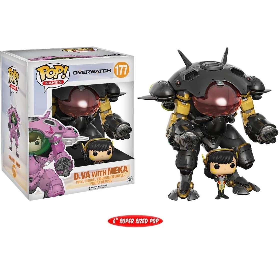 POP!: Overwatch - D.Va with Meka Carbon Fibre (Exclusive) Photo