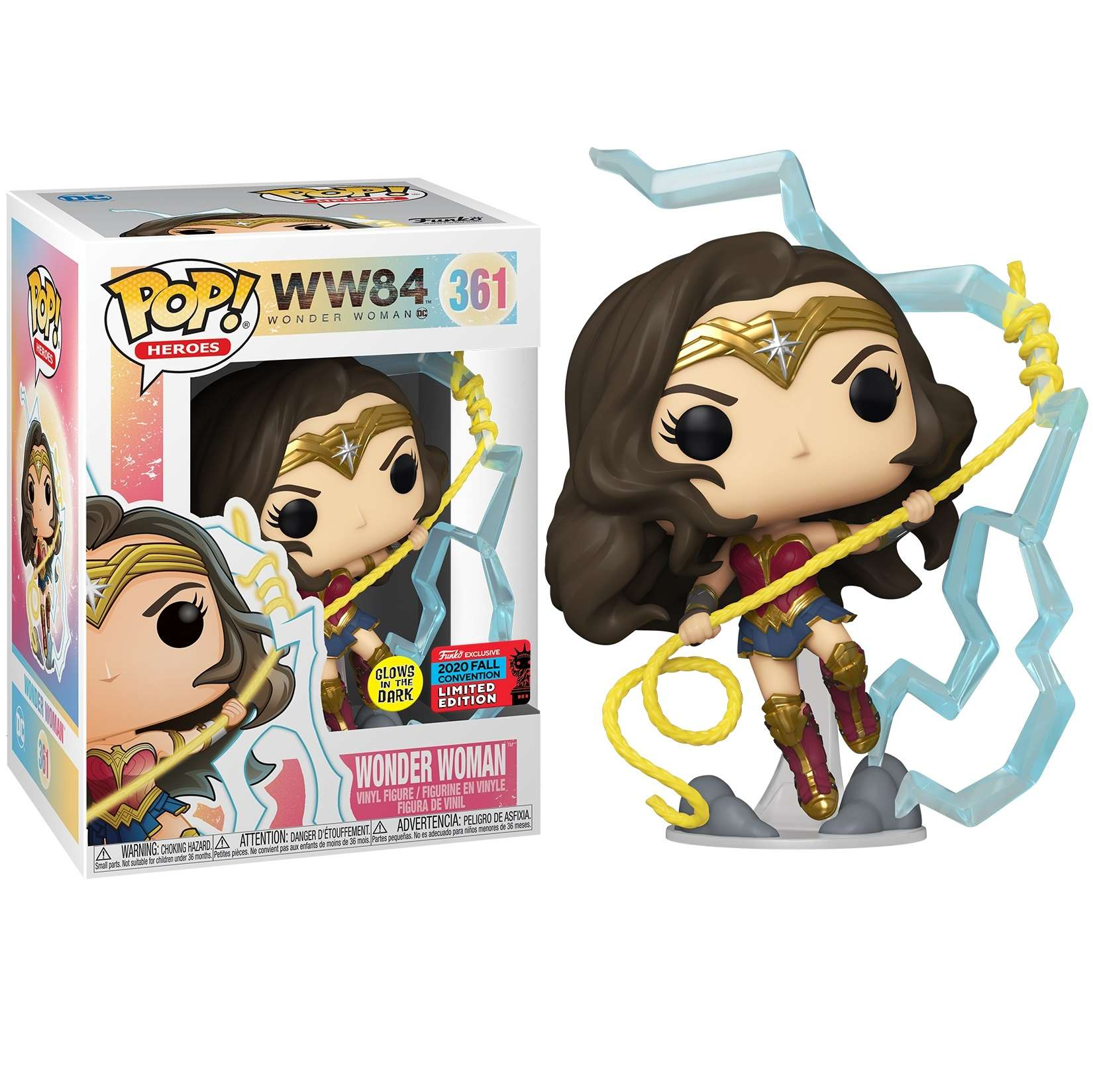 POP!: Wonder Woman 1984 - Wonder Woman w/ Lightning (NYCC 2020) Photo