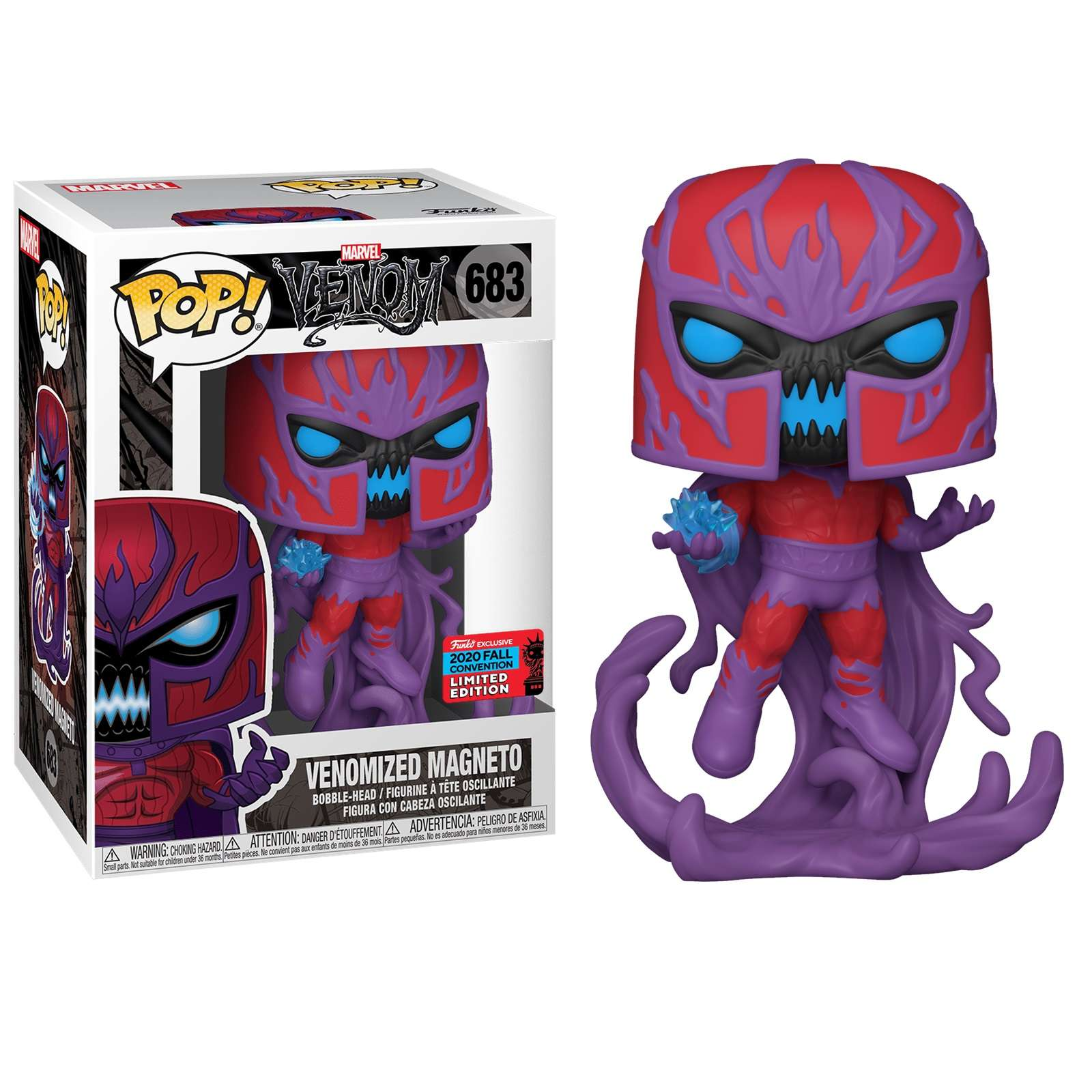POP!: Venom - Venomized Magneto (NYCC 2020) Photo