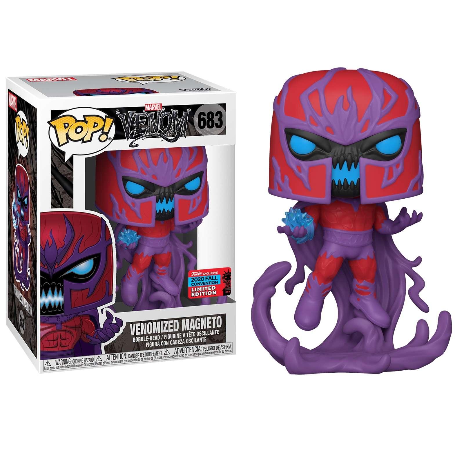 POP!: Venom - Venomized Magneto (NYCC 2020) Photo