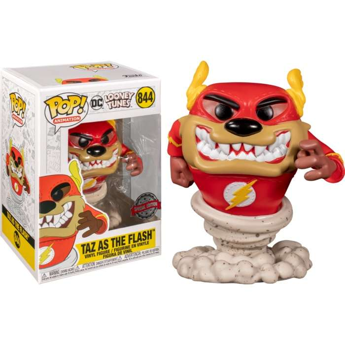 POP!: Looney Tunes - Taz as The Flash (Exclusive) Photo