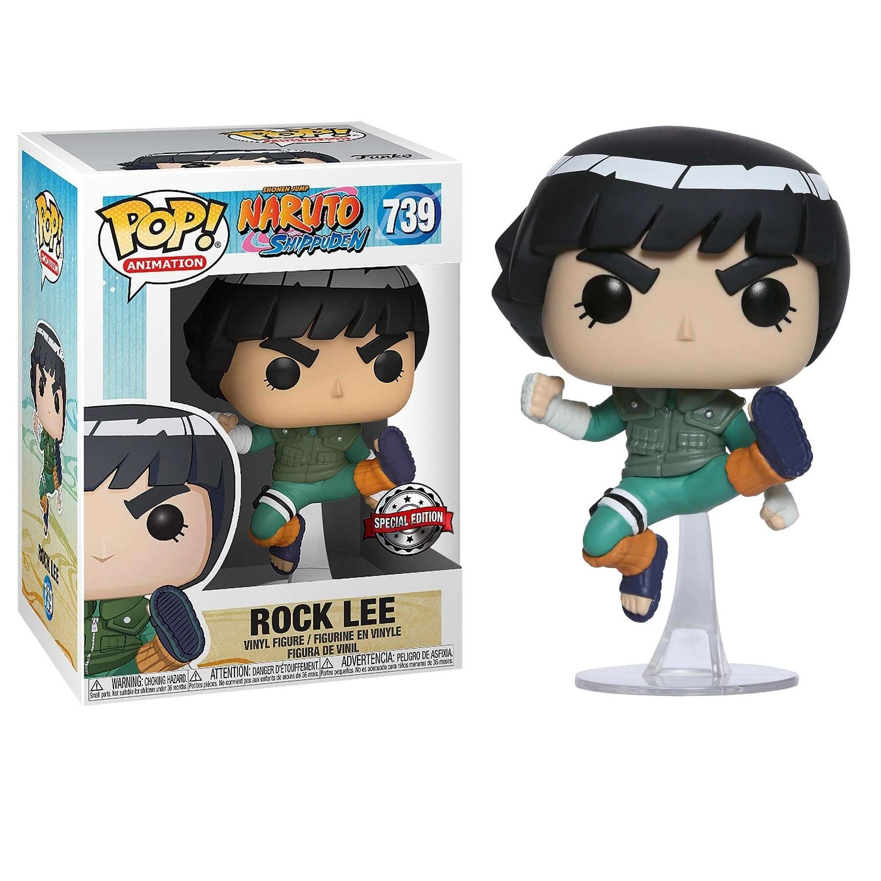 POP!: Naruto Shippuden - Rock Lee (Exclusive) Photo