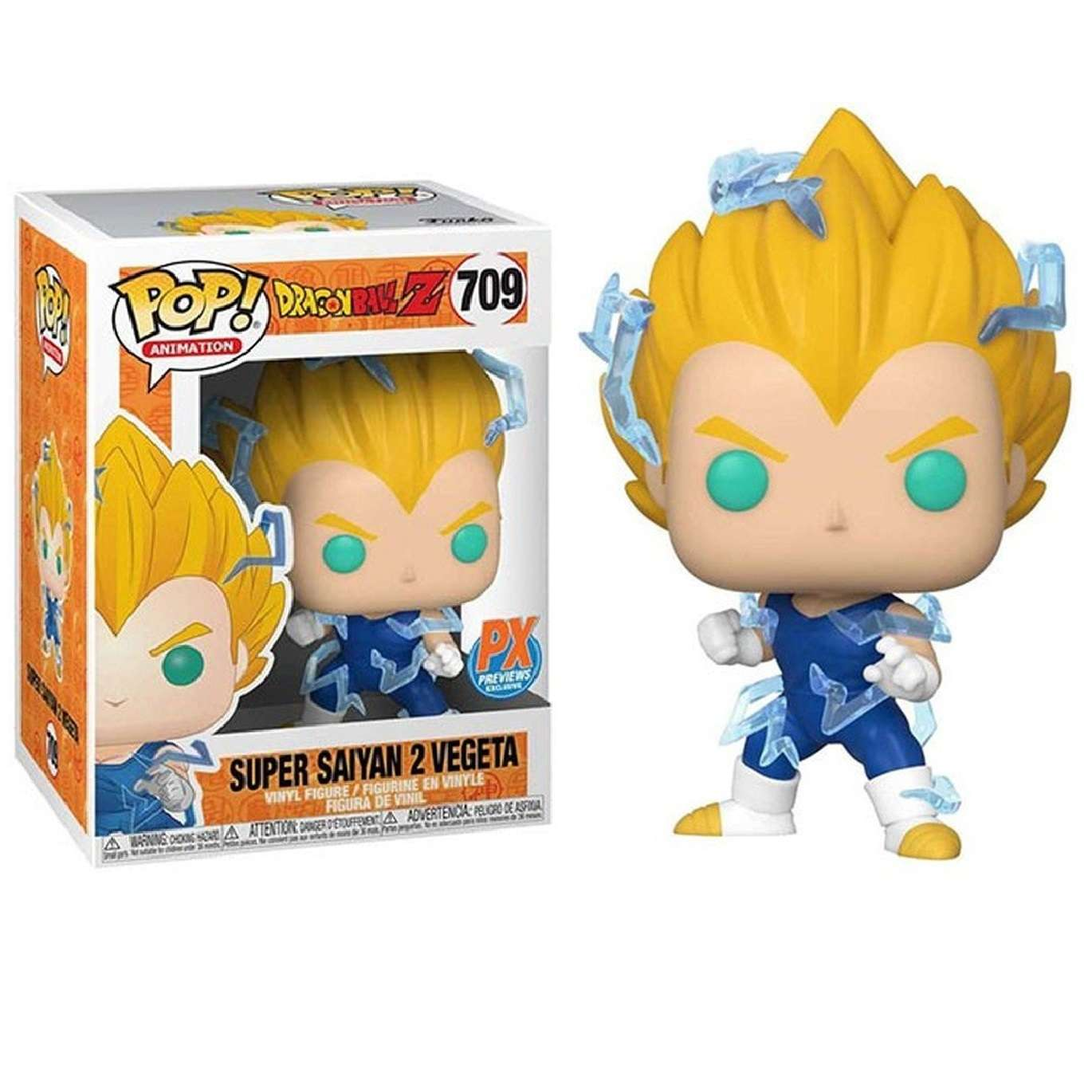 POP!: Dragon Ball - Super Saiyan 2 Vegeta (Previews Exclusive) Photo