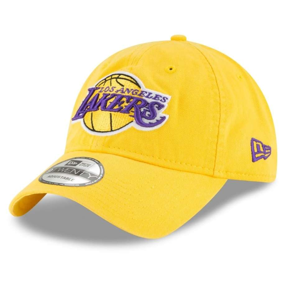 Hat: NBA - Los Angeles Lakers Gold Core Classic Secondary 9TWENTY Photo